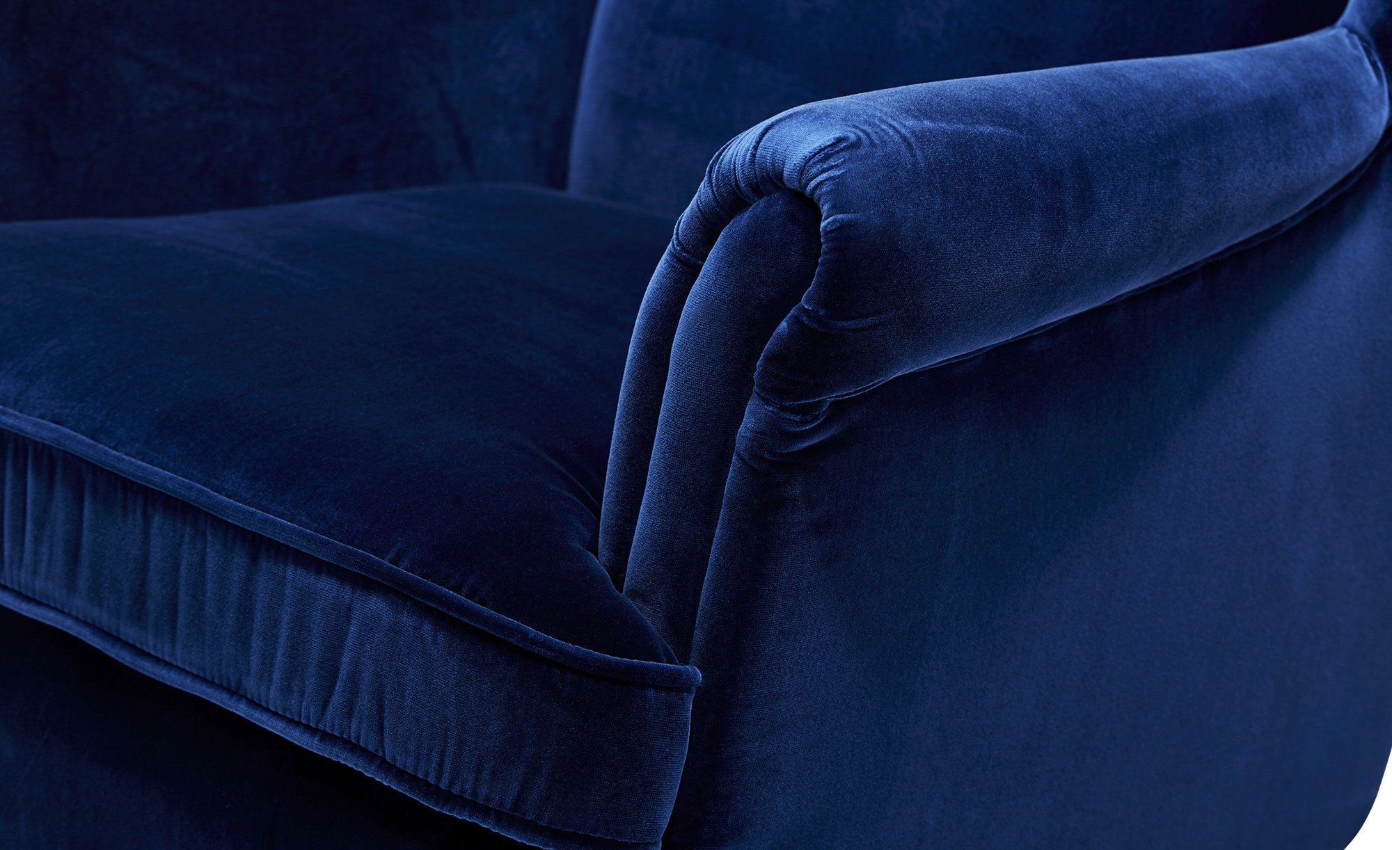 uno Ohrensessel  Birge ¦ blau ¦ Maße (cm): B: 81 H: 102 T: 80 Polstermöbel > Sessel > Ohrensessel - Höffner