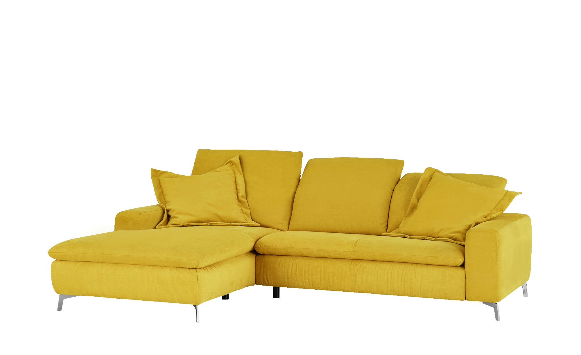 Ecksofa   Habitus ¦ gelb ¦ Maße (cm): B: 191 T: 270 Polstermöbel > Sofas > Ecksofas - Höffner