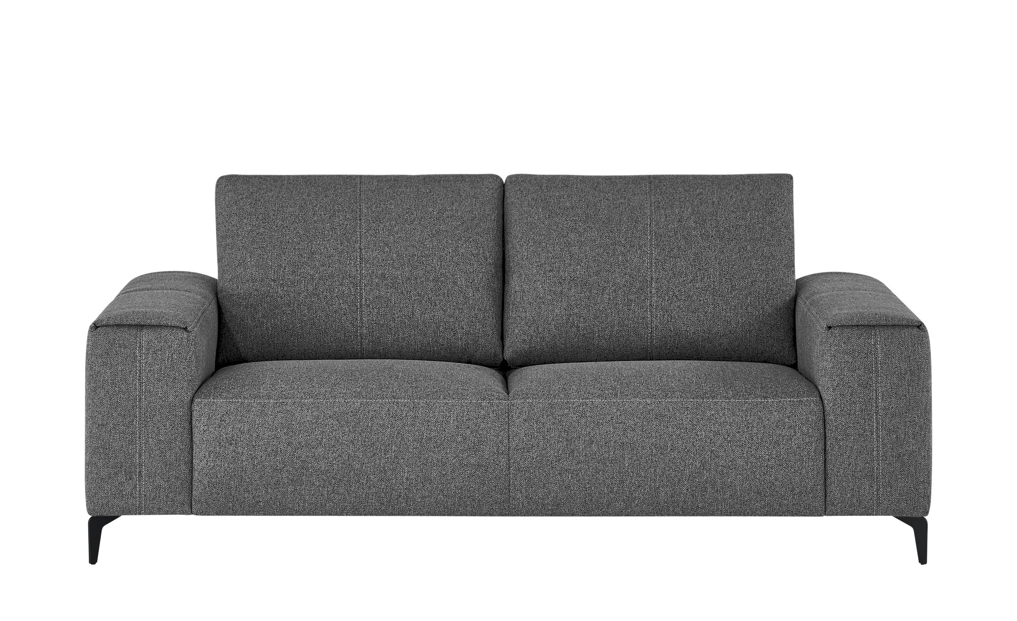 smart Sofa  Gabriela ¦ grau ¦ Maße (cm): B: 202 H: 90 T: 91 Polstermöbel > Sofas > 2-Sitzer - Höffner
