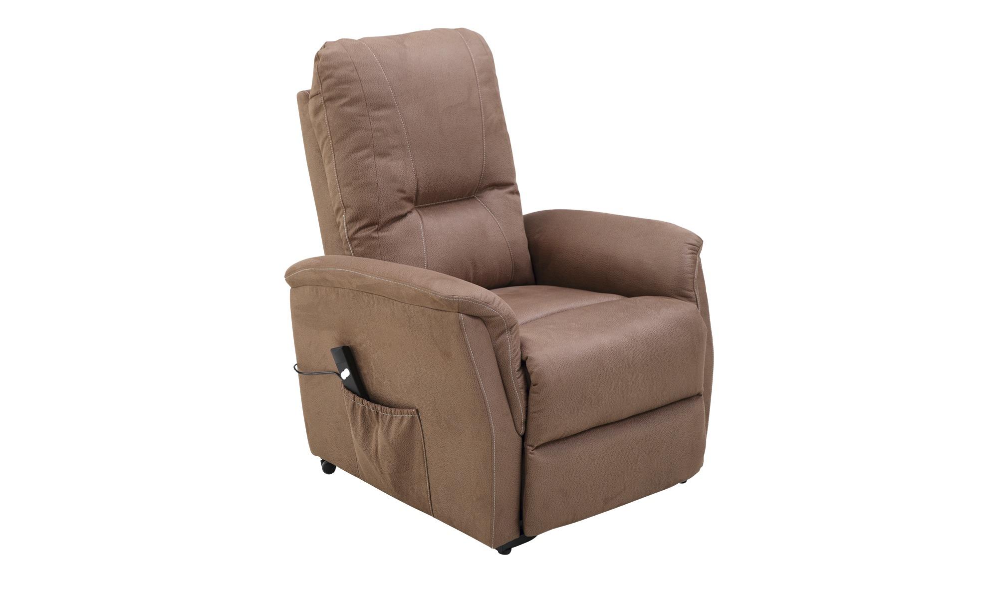 TV-Sessel  Giorgia ¦ braun ¦ Maße (cm): B: 85 H: 106 T: 95 Polstermöbel > Sessel > Fernsehsessel - Höffner