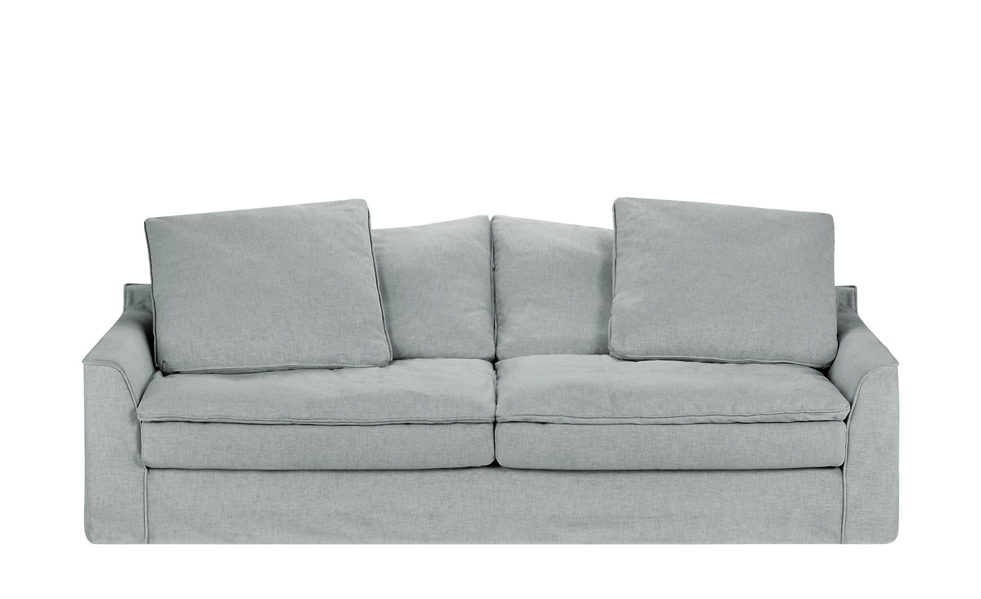 SOHO Sofa 3-sitzig  Sarvika ¦ grau ¦ Maße (cm): B: 233 H: 95 T: 114 Polstermöbel > Sofas > 3-Sitzer - Höffner