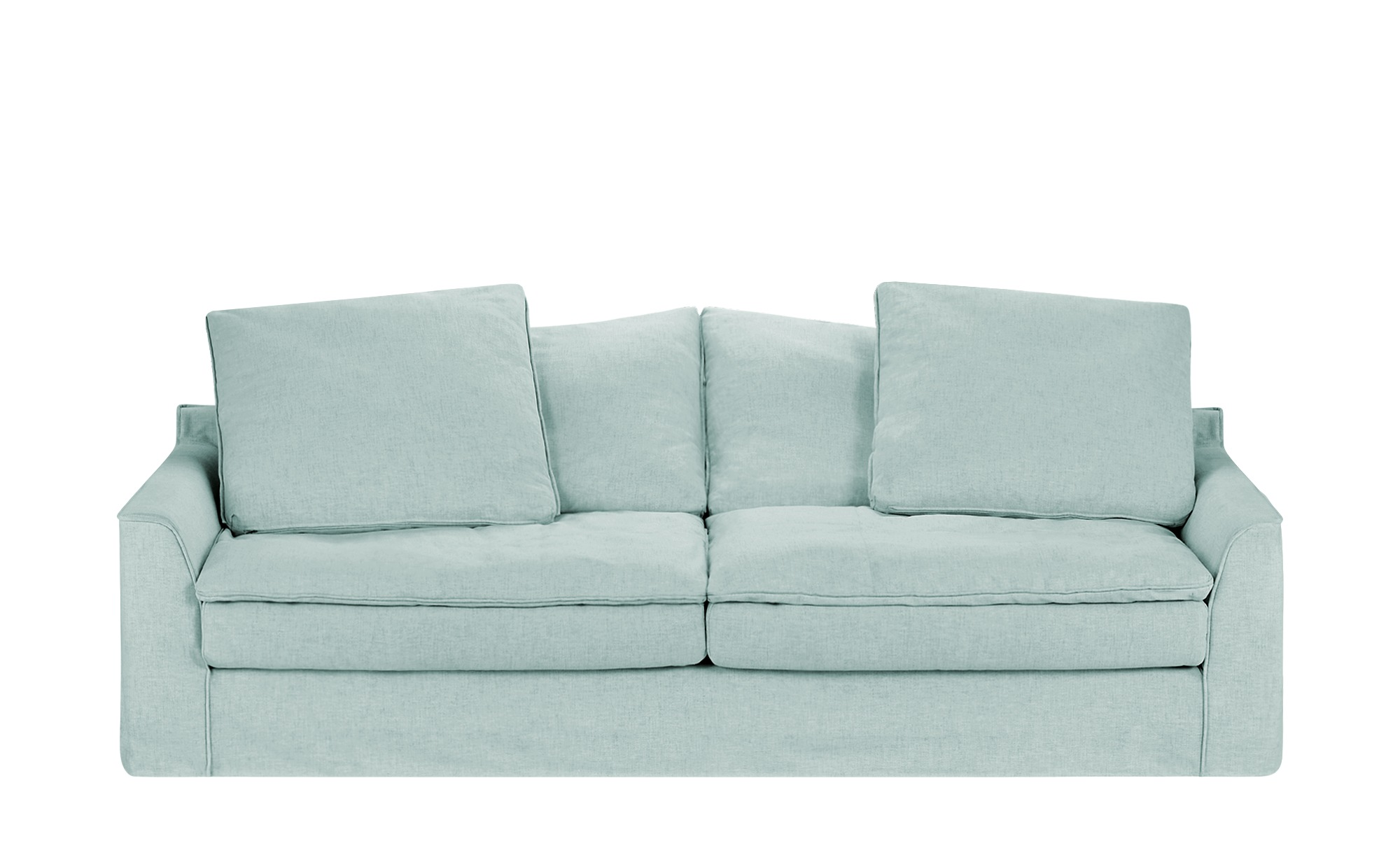 SOHO Sofa 3-sitzig  Sarvika ¦ blau ¦ Maße (cm): B: 233 H: 95 T: 114 Polstermöbel > Sofas > 3-Sitzer - Höffner