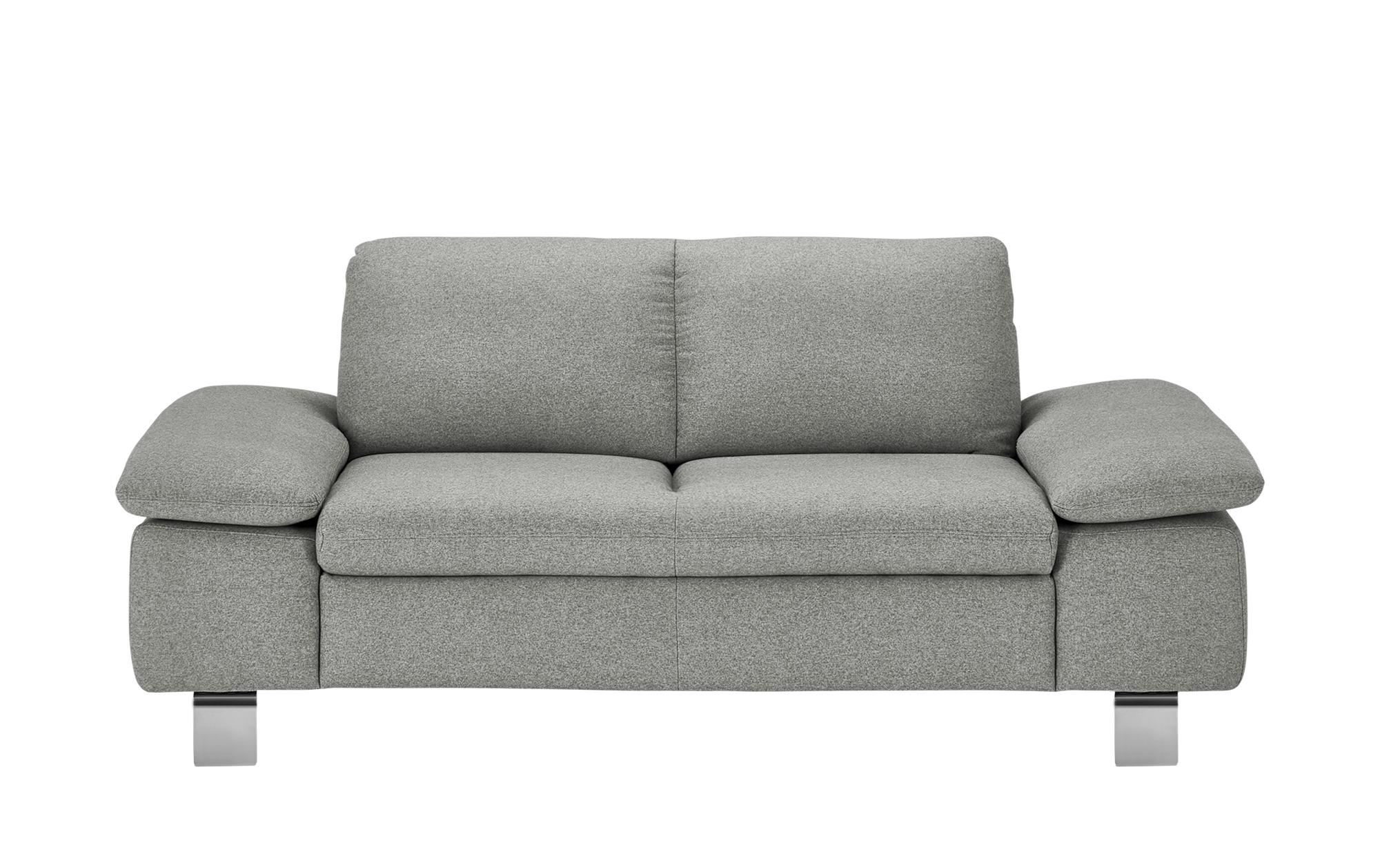 smart Sofa  Finola ¦ grau ¦ Maße (cm): B: 181 H: 83 T: 94 Polstermöbel > Sofas > 2-Sitzer - Höffner