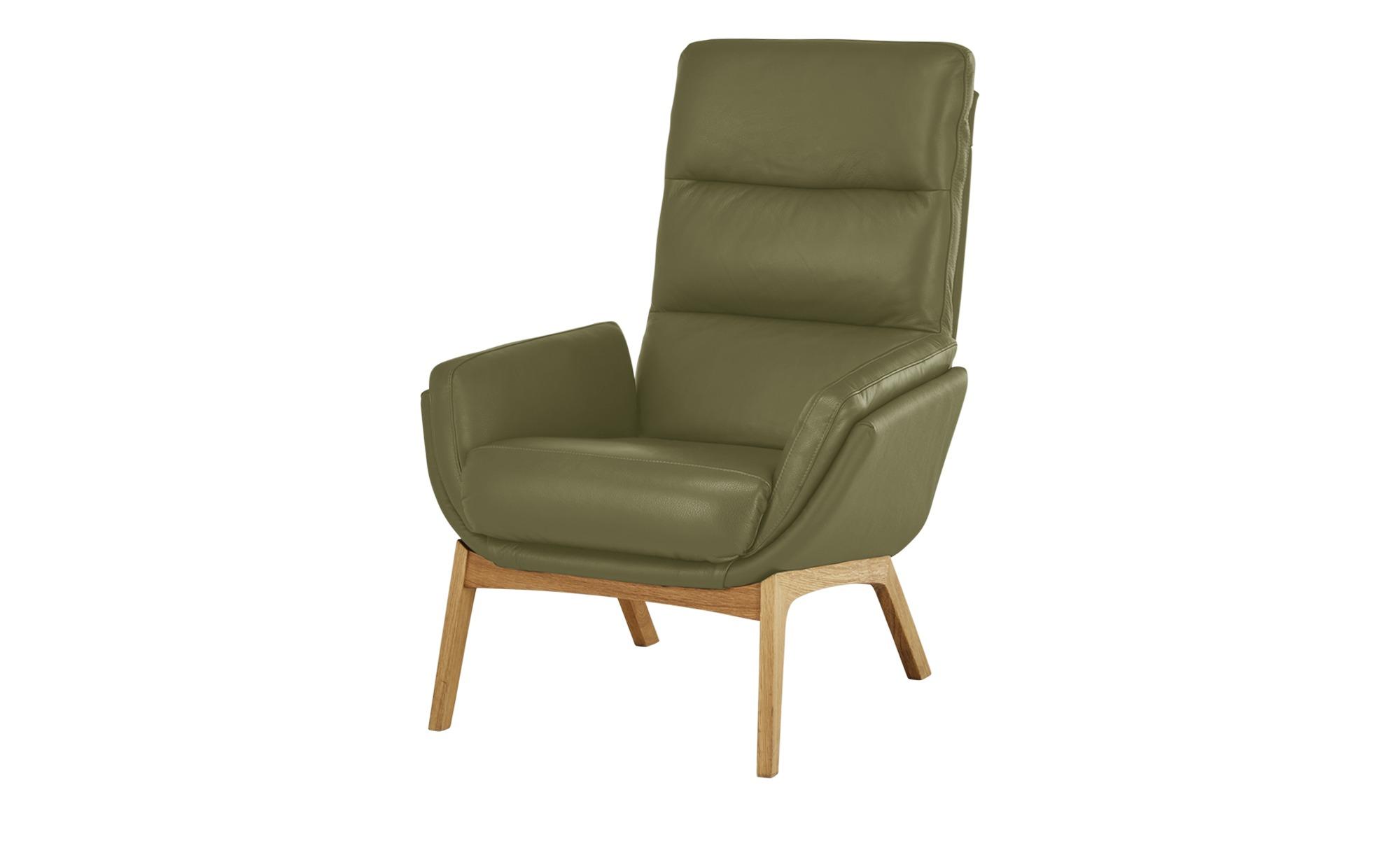 Nils Olsen Sessel  Torgen ¦ grün ¦ Maße (cm): B: 82 H: 104 T: 90 Polstermöbel > Sessel > Ledersessel - Höffner