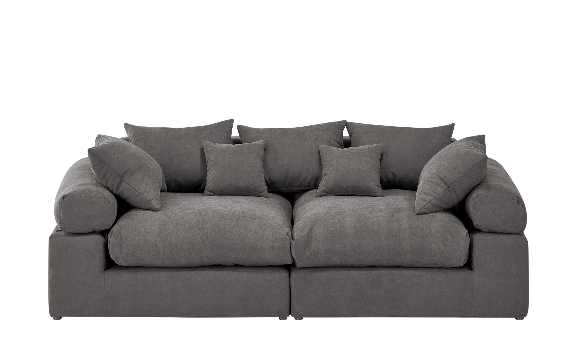 smart Big Sofa  Lionore ¦ grau ¦ Maße (cm): B: 242 H: 86 T: 121 Polstermöbel > Sofas > Big-Sofas - Höffner