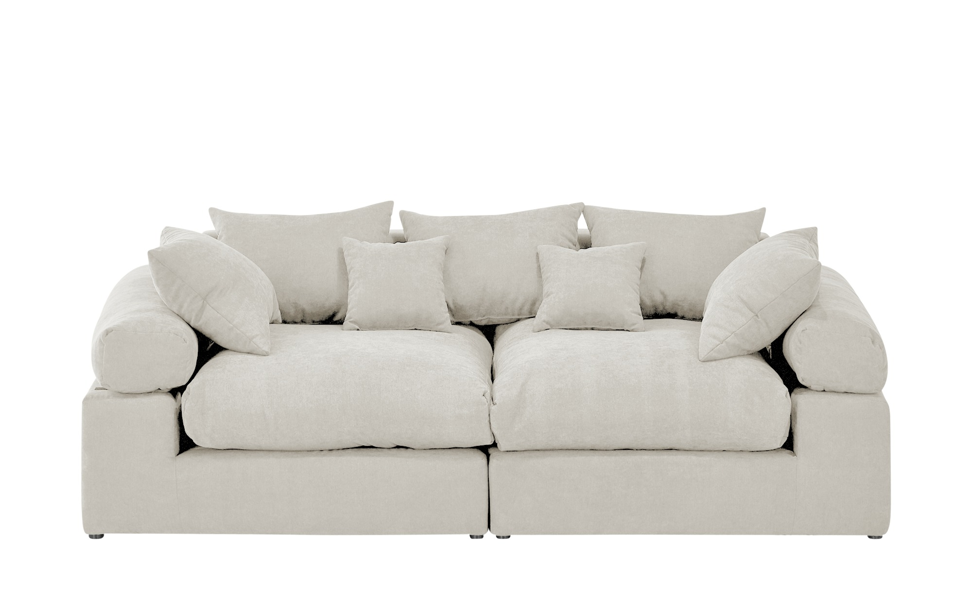 smart Big Sofa  Lionore ¦ weiß ¦ Maße (cm): B: 242 H: 86 T: 121 Polstermöbel > Sofas > Big-Sofas - Höffner