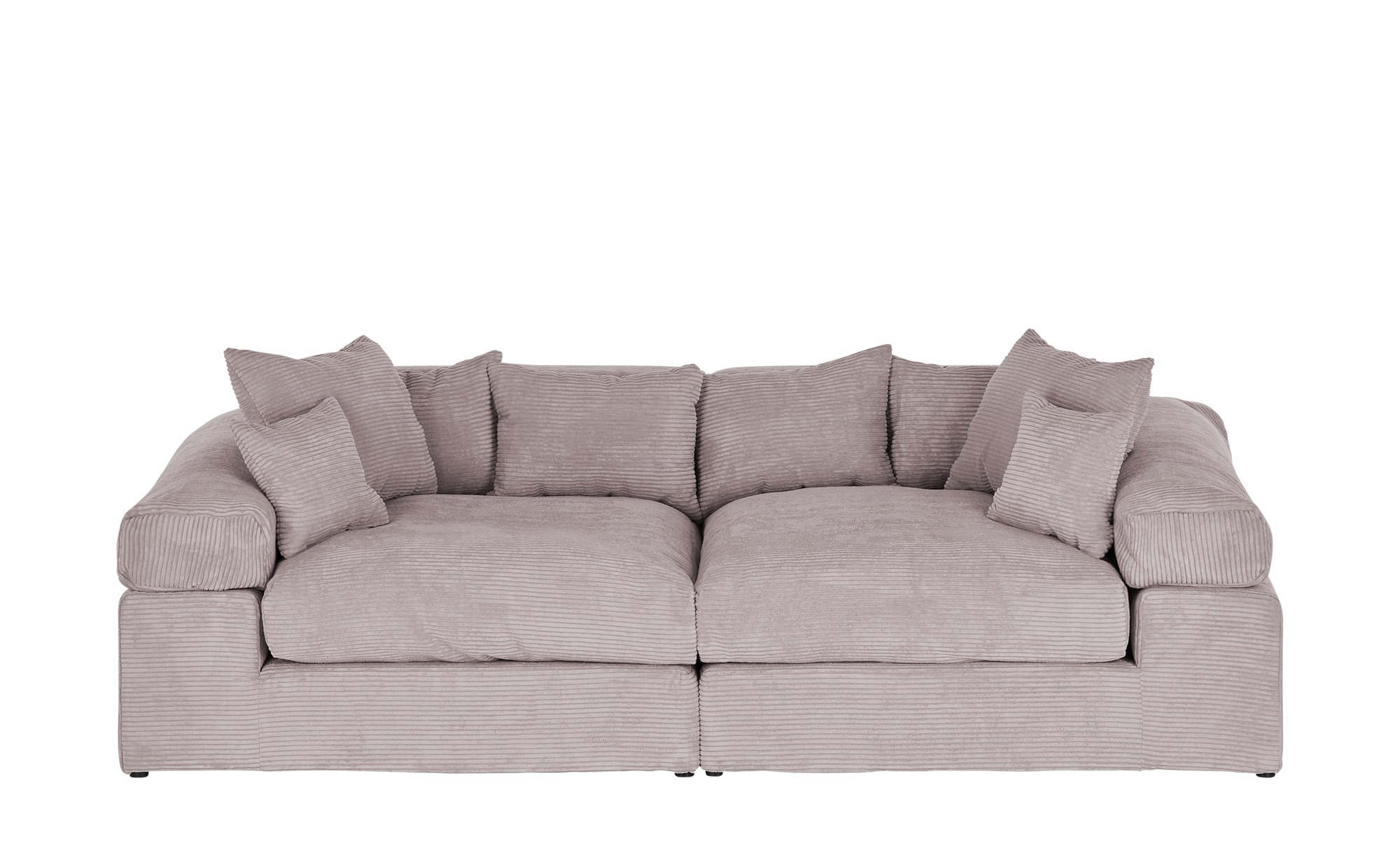 smart Big Sofa  Lianea ¦ rosa/pink ¦ Maße (cm): B: 276 H: 86 T: 138 Polstermöbel > Sofas > Big-Sofas - Höffner