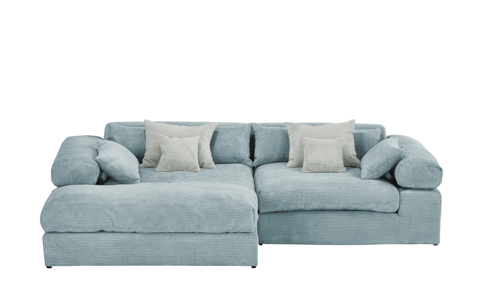 smart Ecksofa  Lianea ¦ blau ¦ Maße (cm): H: 81 Polstermöbel > Sofas > Ecksofas - Höffner