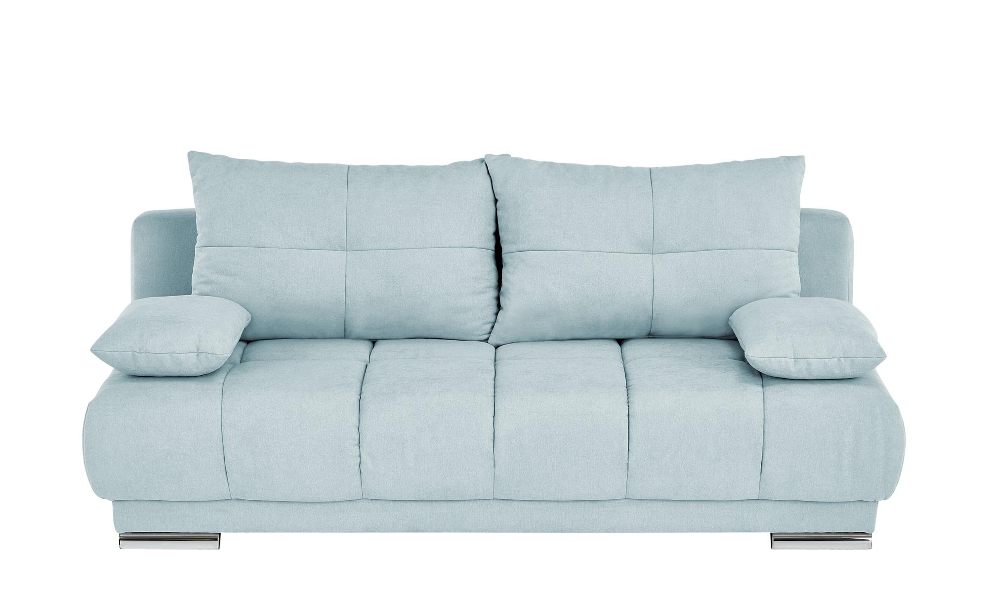bobb Schlafsofa  Isalie de Luxe ¦ blau ¦ Maße (cm): B: 206 H: 92 T: 105 Polstermöbel > Sofas > Einzelsofas - Höffner