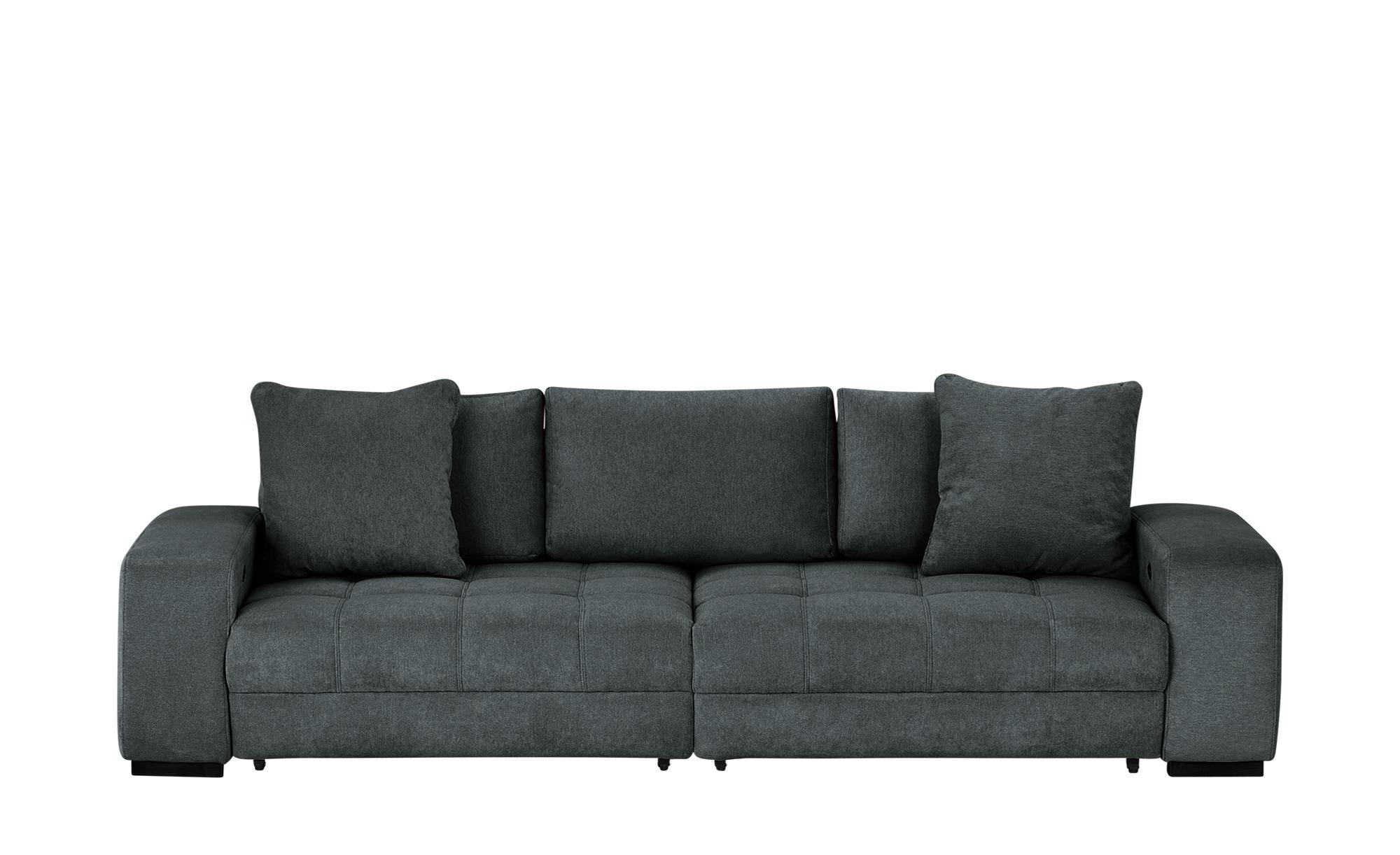 bobb Big Sofa  Caro ¦ schwarz ¦ Maße (cm): B: 302 H: 68 T: 136 Polstermöbel > Sofas > Big-Sofas - Höffner