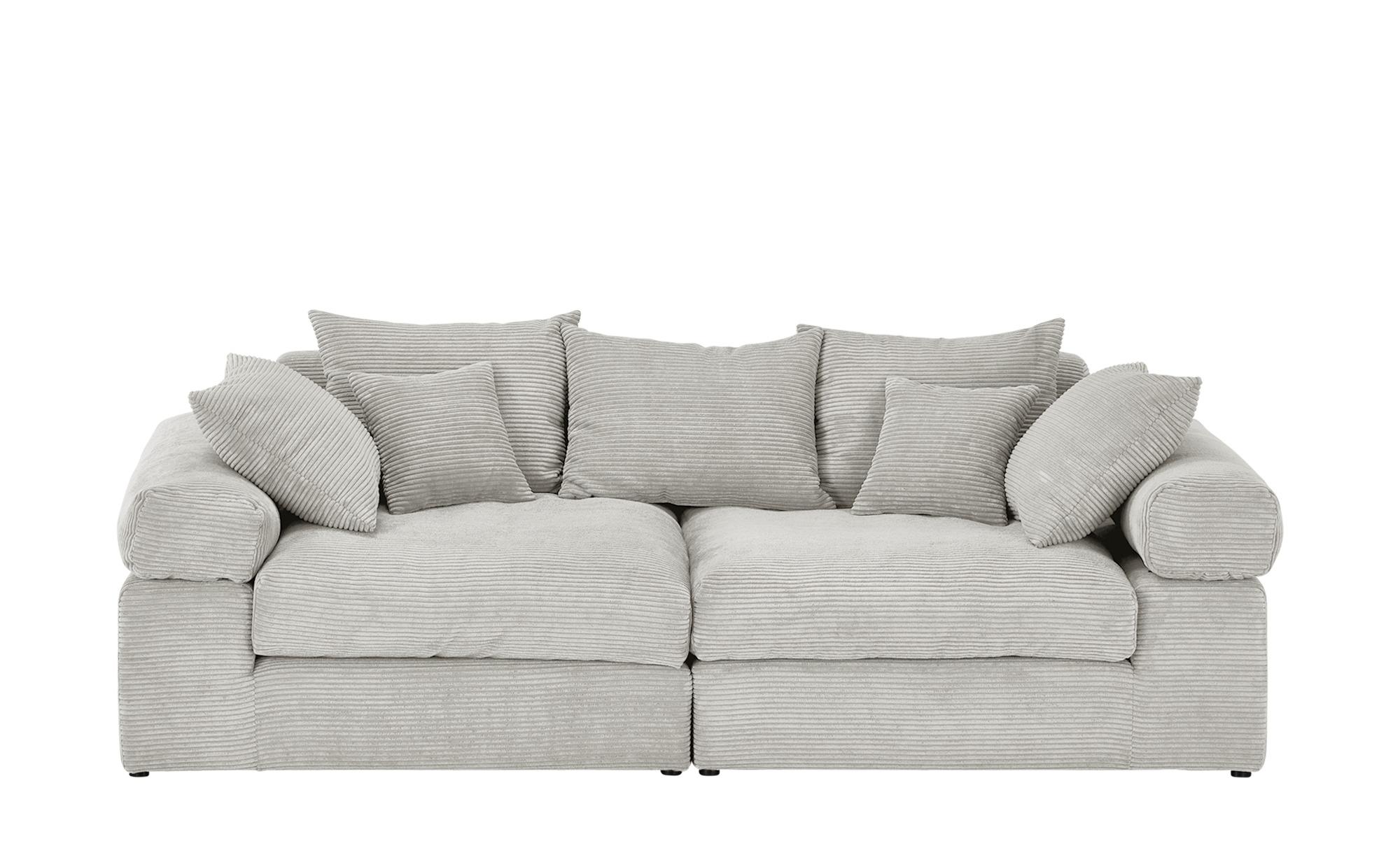 smart Big Sofa  Lionore ¦ grau ¦ Maße (cm): B: 240 H: 86 T: 120 Polstermöbel > Sofas > Big-Sofas - Höffner