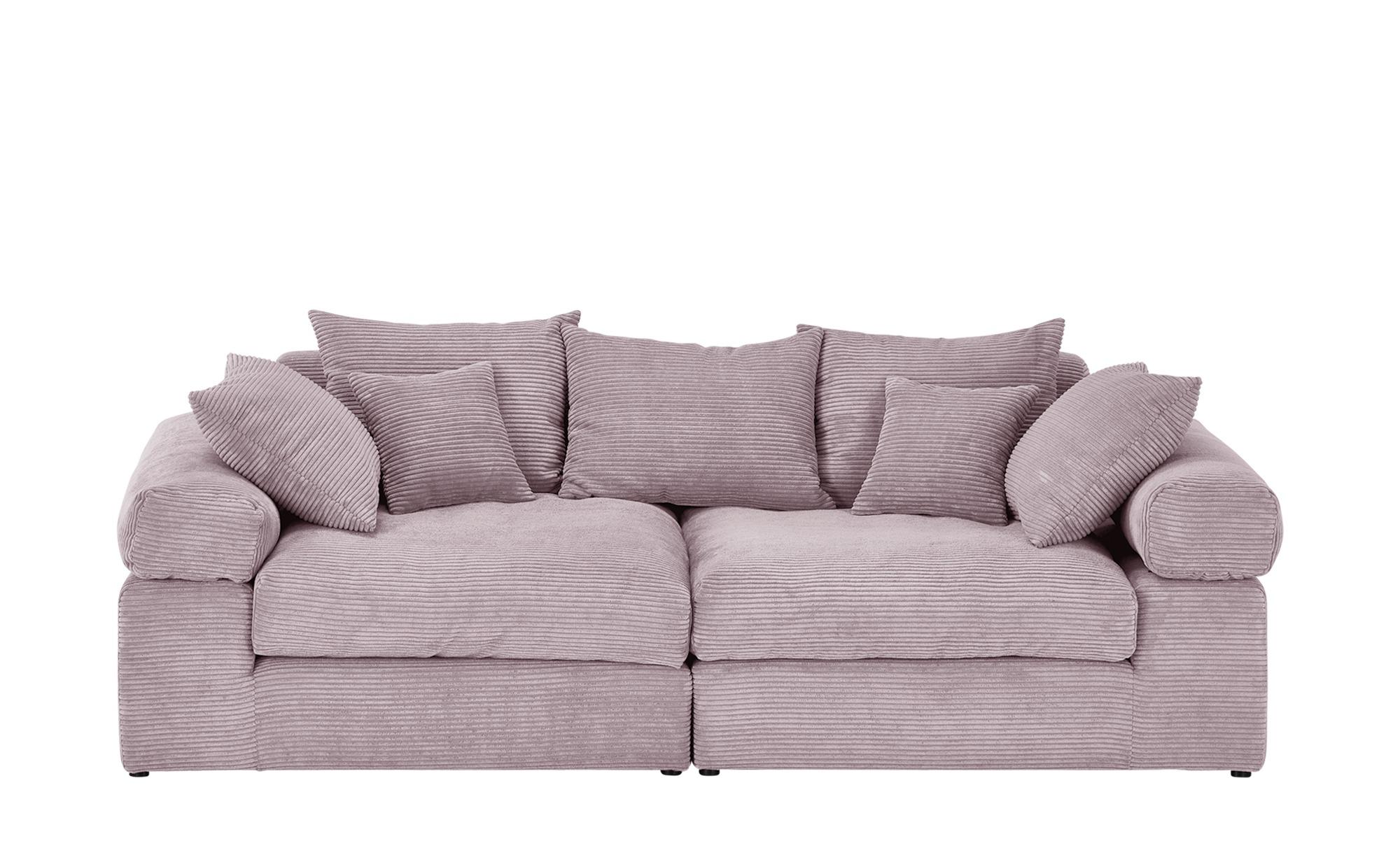 smart Big Sofa  Lionore ¦ rosa/pink ¦ Maße (cm): B: 242 H: 86 T: 121 Polstermöbel > Sofas > Big-Sofas - Höffner