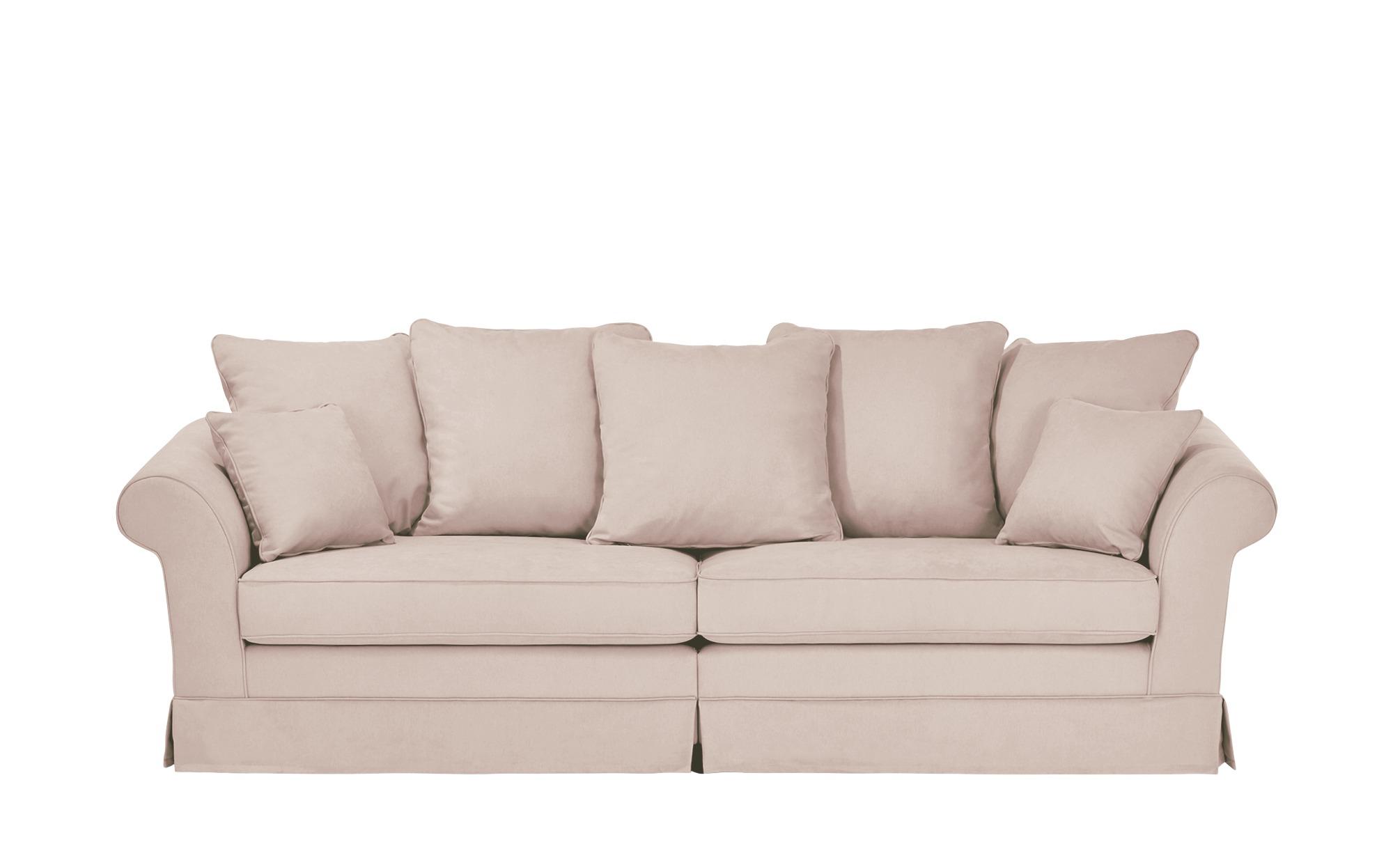 Megasofa Husse  Hampton ¦ rosa/pink ¦ Maße (cm): B: 264 H: 70 T: 111 Polstermöbel > Sofas > Einzelsofas - Höffner