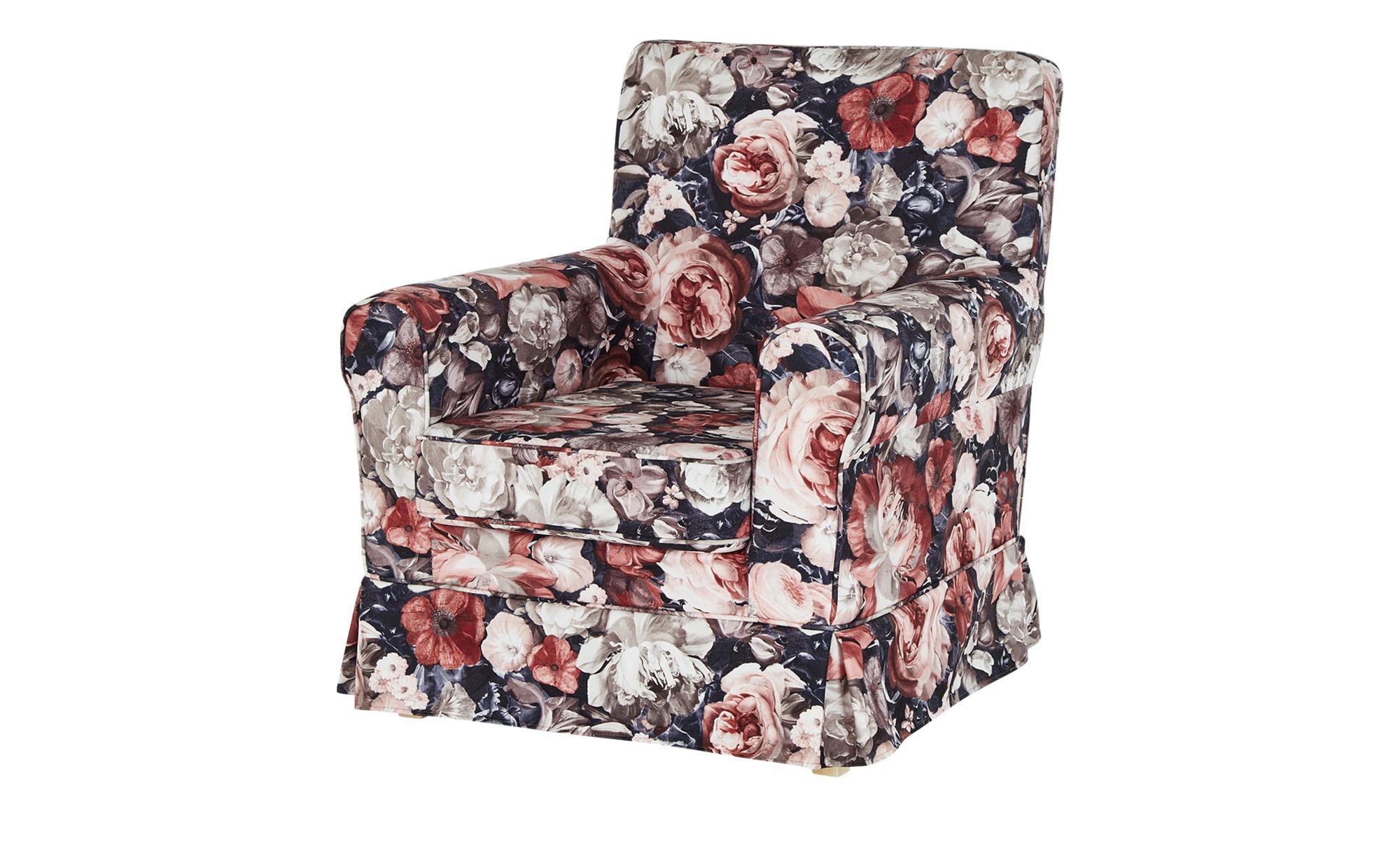 Sessel mit Husse  Apollo ¦ mehrfarbig ¦ Maße (cm): B: 79 H: 86 T: 85 Polstermöbel > Sessel > Ohrensessel - Höffner