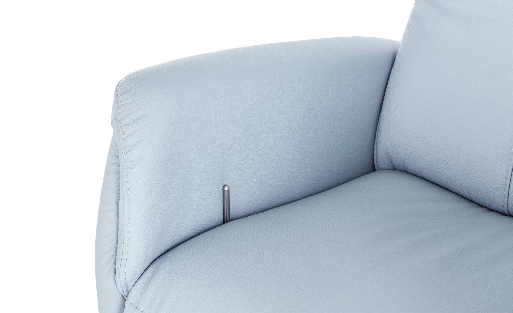 meinSofa Sessel  Franzi ¦ blau Polstermöbel > Sessel > Fernsehsessel - Höffner