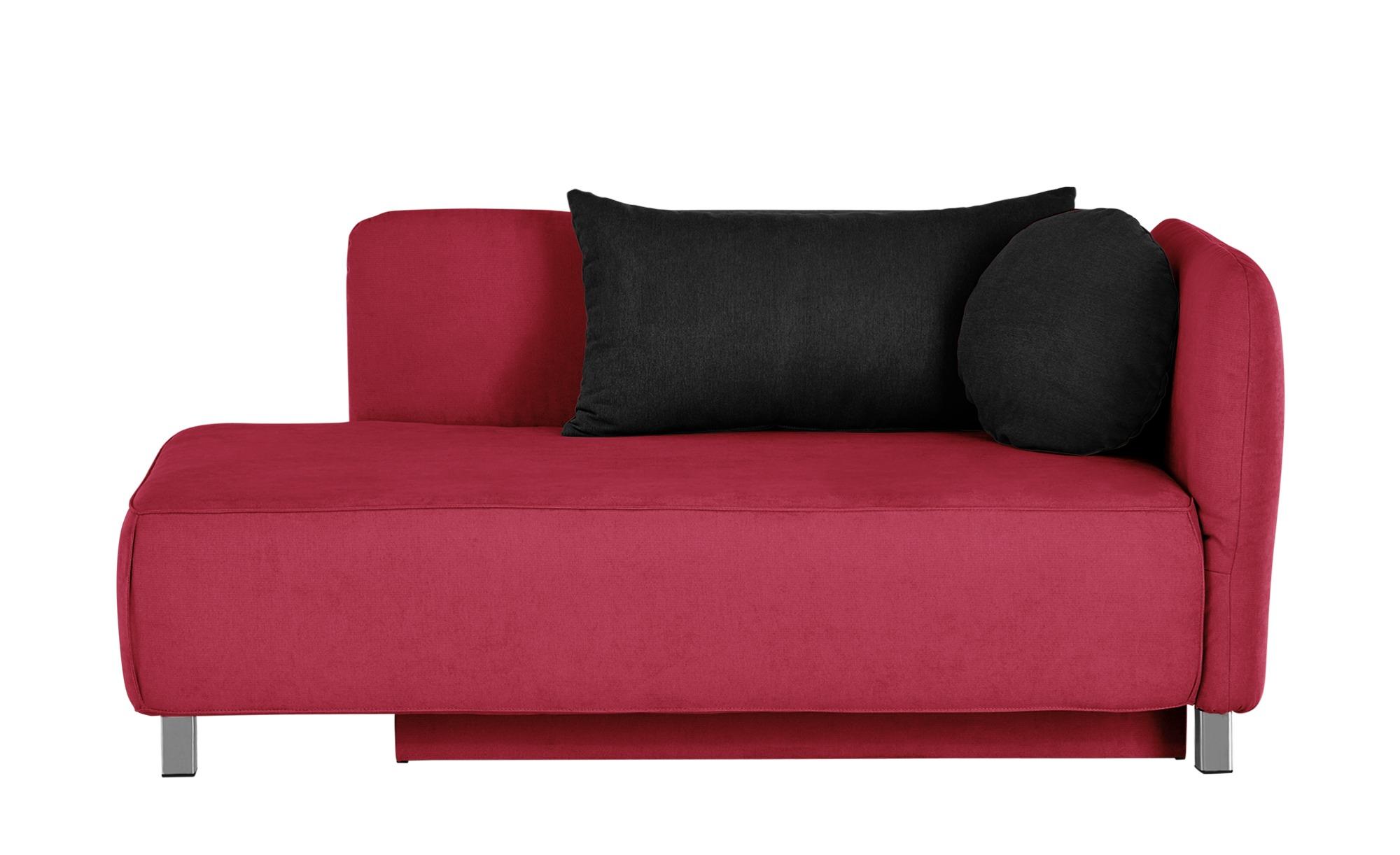 Schlafsofa  Peppa ¦ rot ¦ Maße (cm): B: 170 H: 83 T: 90 Polstermöbel > Sofas > Einzelsofas - Höffner
