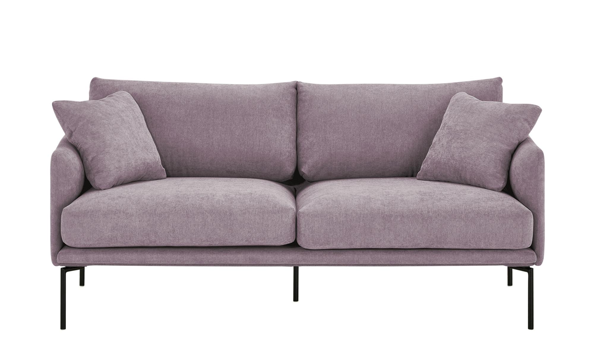 finya Sofa  Nora ¦ lila/violett ¦ Maße (cm): B: 173 H: 78 T: 86 Polstermöbel > Sofas > 2-Sitzer - Höffner