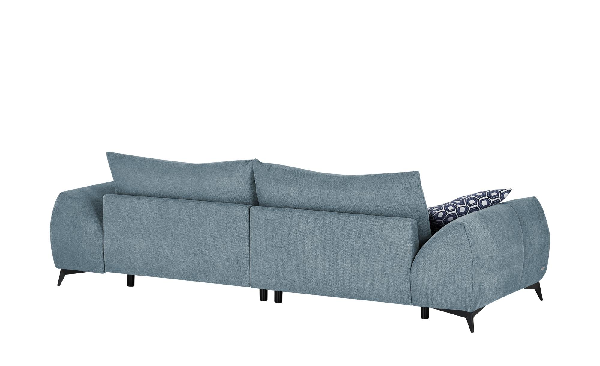 bobb Big Sofa  Dalia ¦ blau ¦ Maße (cm): B: 314 H: 91 T: 123 Polstermöbel > Sofas > Big-Sofas - Höffner