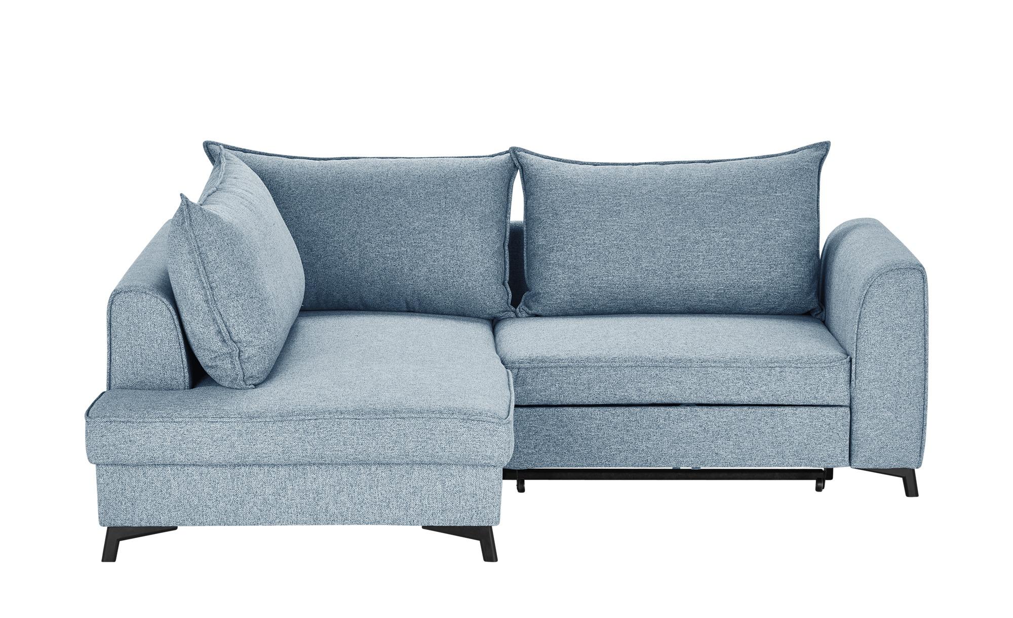 bobb ecksofa theresia blau ma e cm h 95 polsterm bel sofas ecksofas h ffner. Black Bedroom Furniture Sets. Home Design Ideas