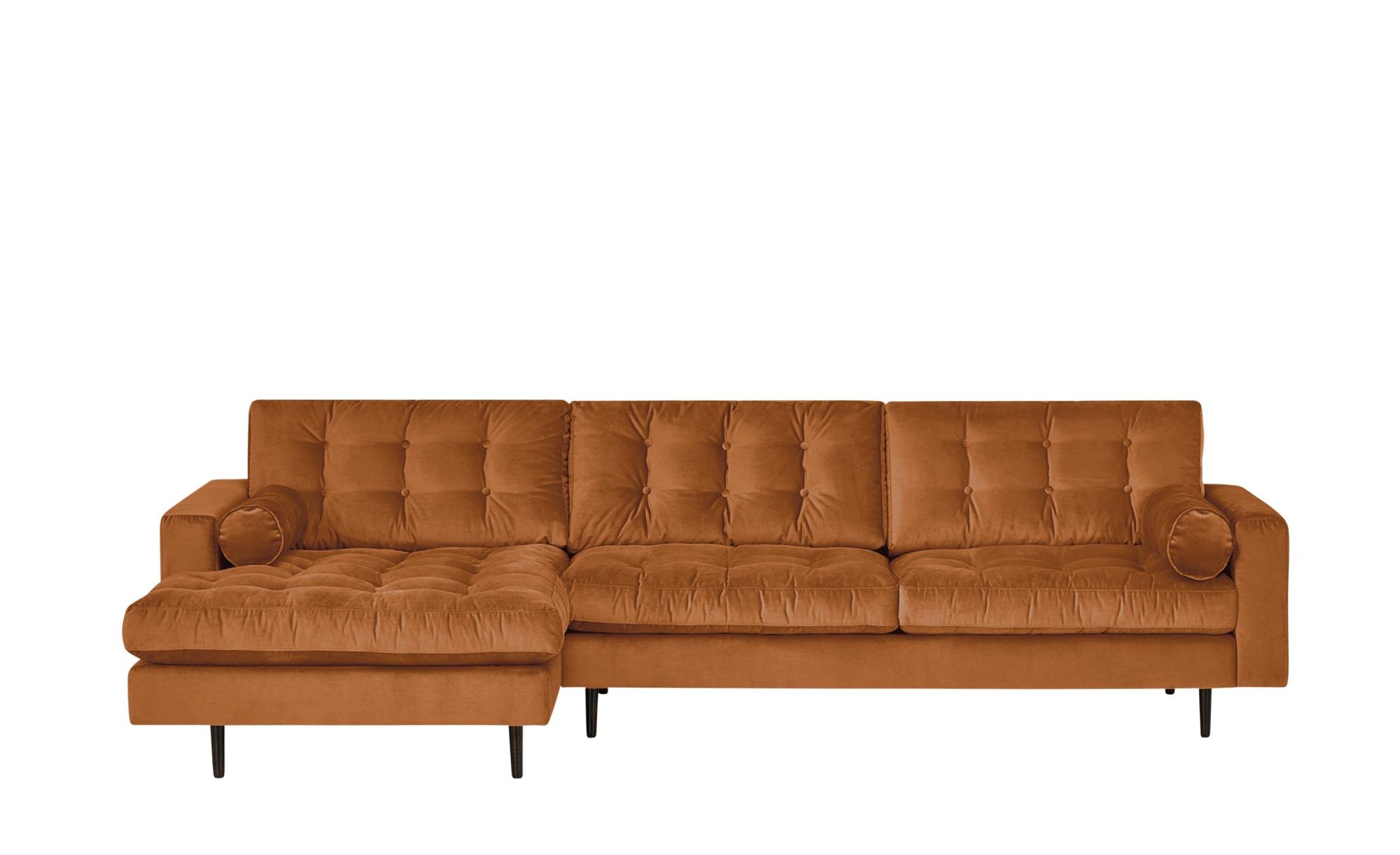 Gray & Jones Ecksofa  Tierra Fuego Gypsy ¦ orange ¦ Maße (cm): H: 90 Polstermöbel > Sofas > Ecksofas - Höffner
