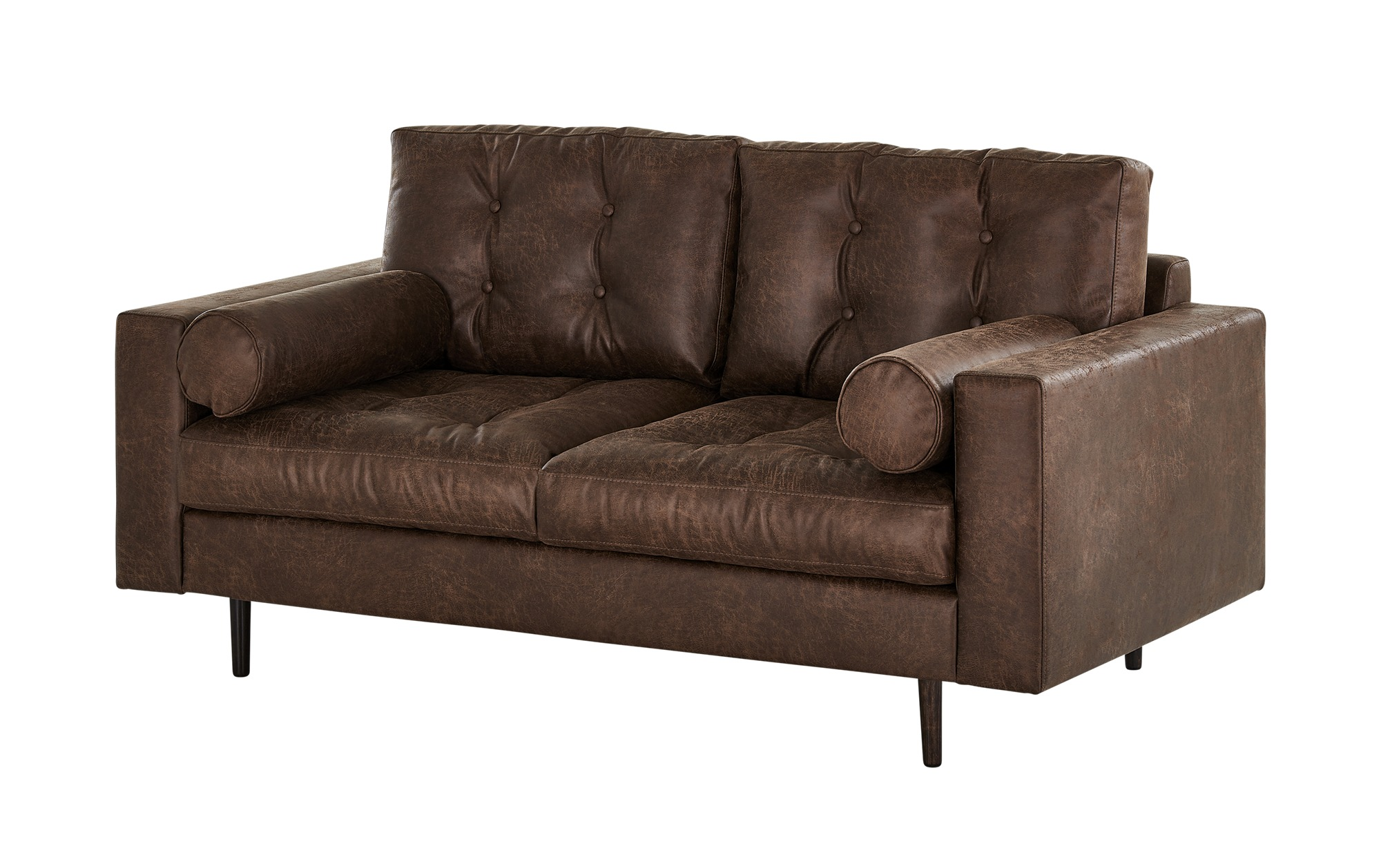 Gray & Jones Sofa  Tierra Fuego Gypsy ¦ braun ¦ Maße (cm): B: 172 H: 90 T: 92 Polstermöbel > Sofas > 2-Sitzer - Höffner