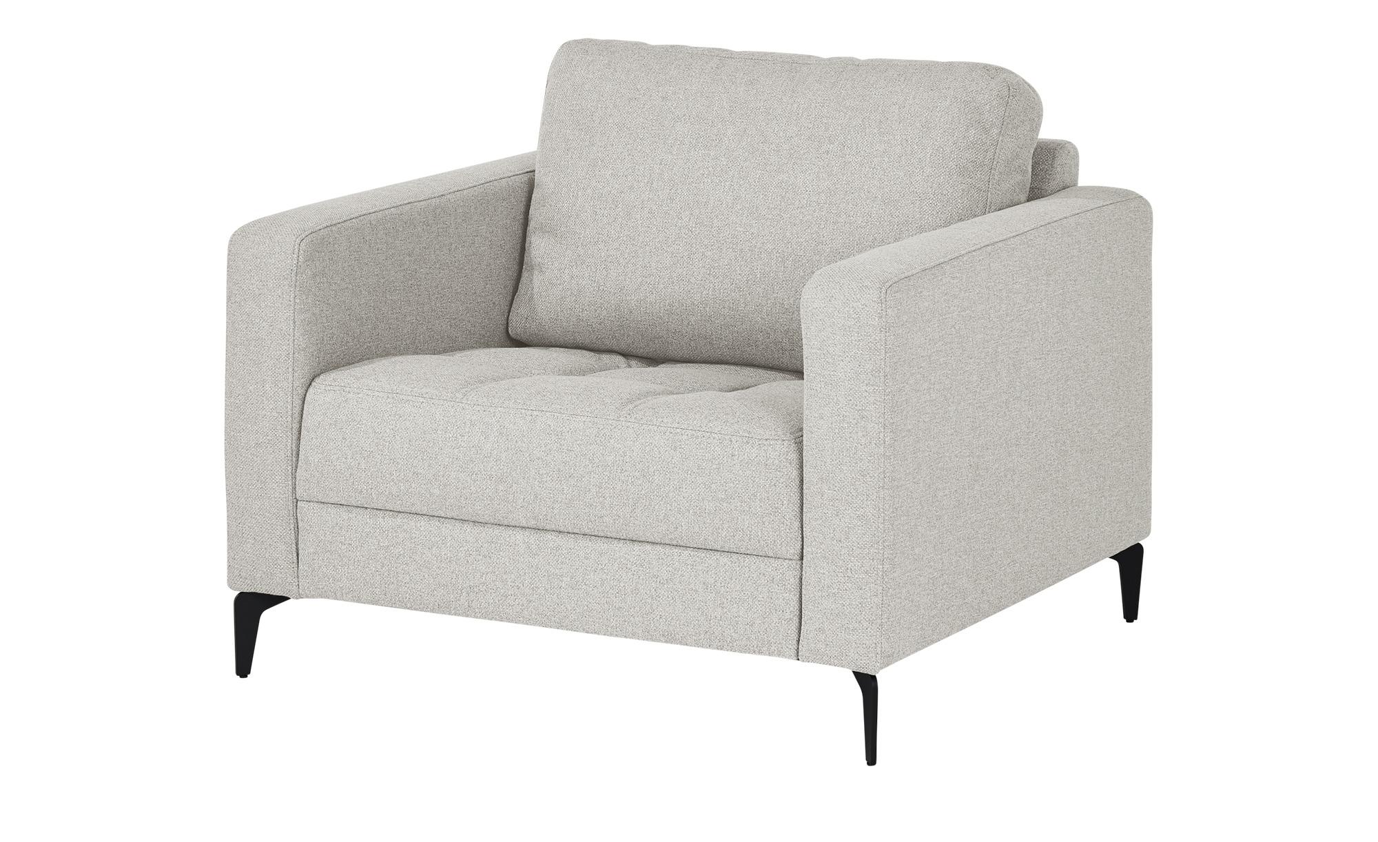smart Sessel  Gesa ¦ grau ¦ Maße (cm): B: 102 H: 83 T: 91 Polstermöbel > Sofas > Sitzgruppen - Höffner