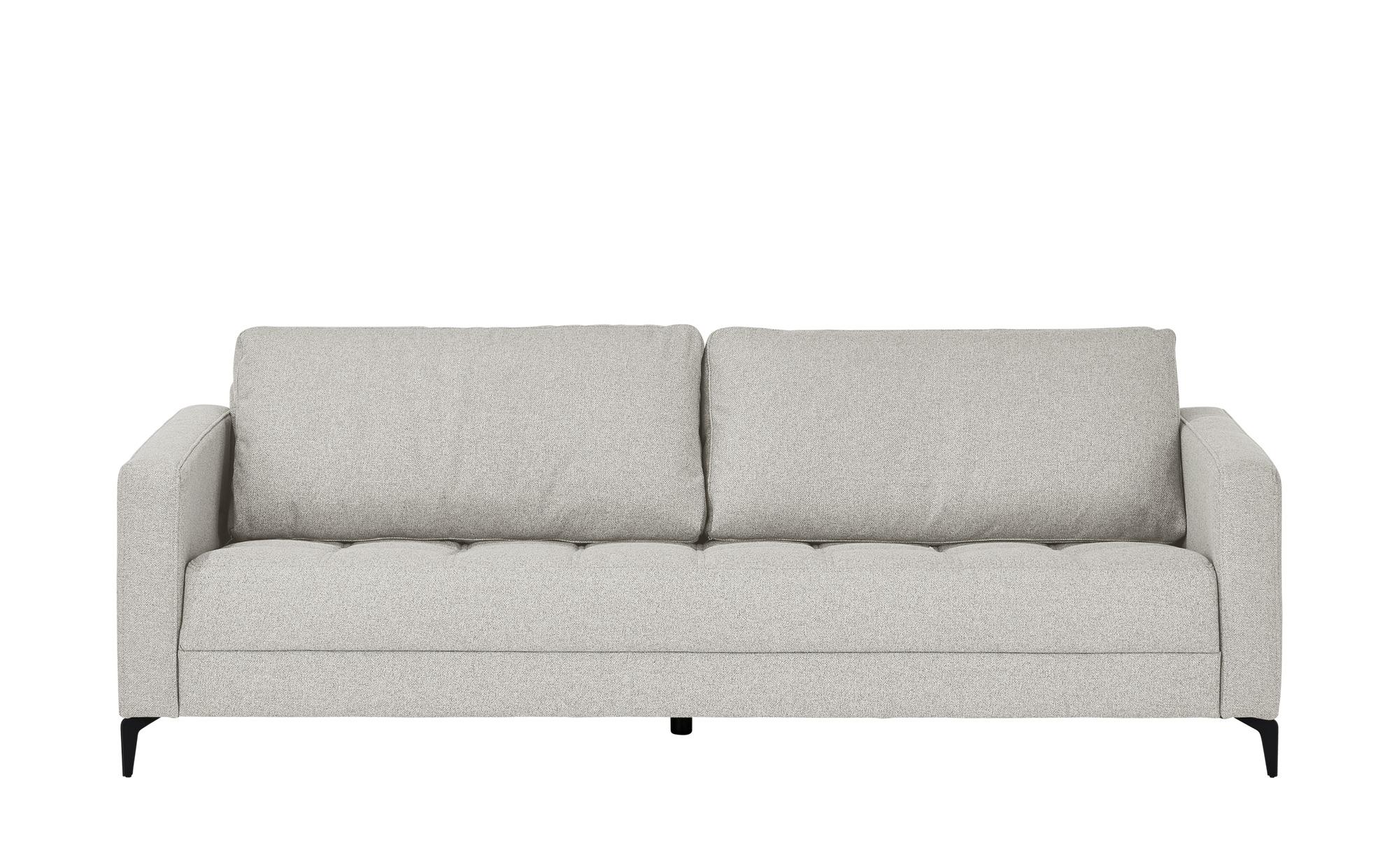 smart Sofa  Gesa ¦ grau ¦ Maße (cm): B: 228 H: 83 T: 91 Polstermöbel > Sofas > 3-Sitzer - Höffner