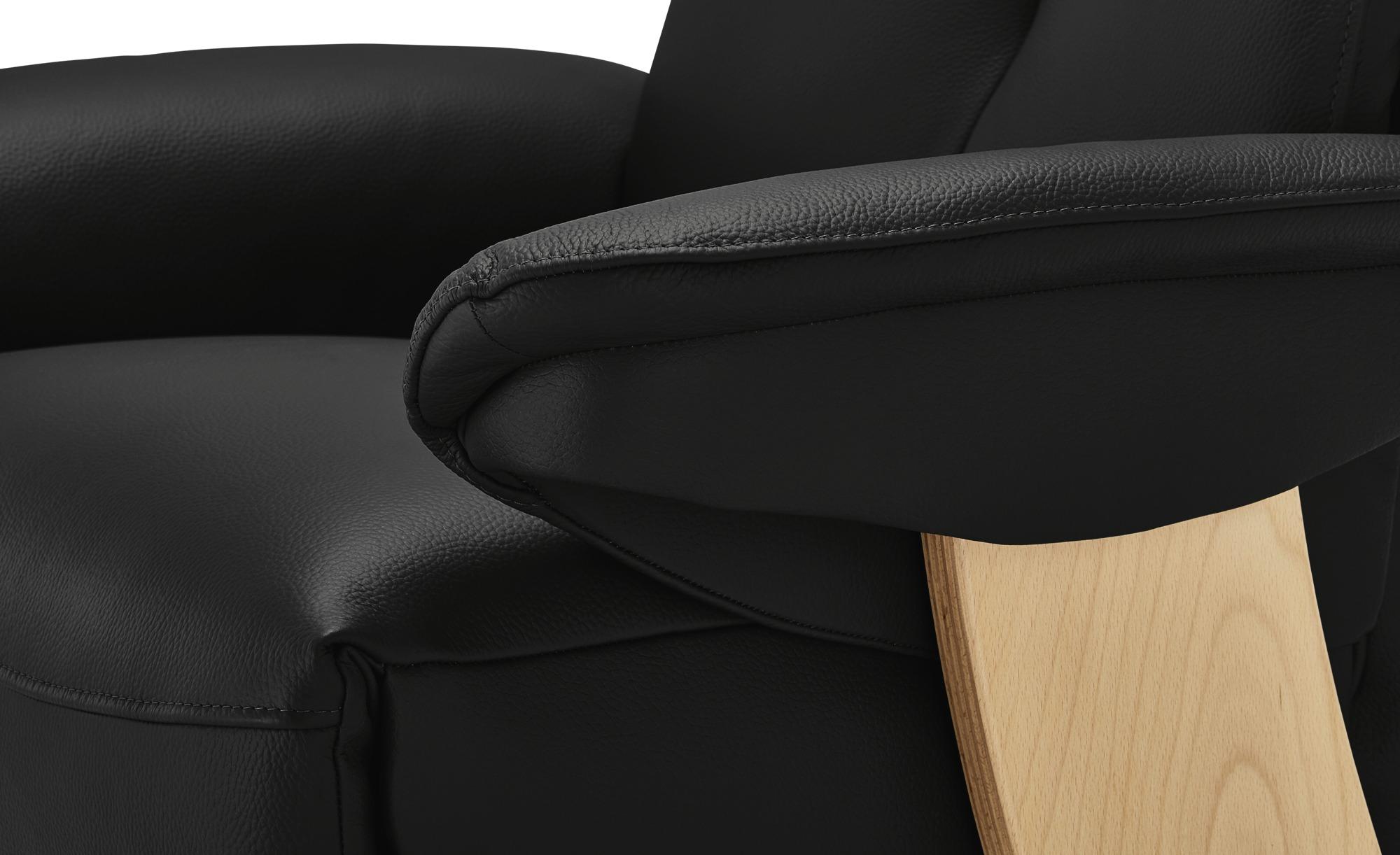 Relaxsessel  Svenstrup ¦ grau ¦ Maße (cm): B: 76 H: 108 T: 81 Polstermöbel > Sessel > Ledersessel - Höffner