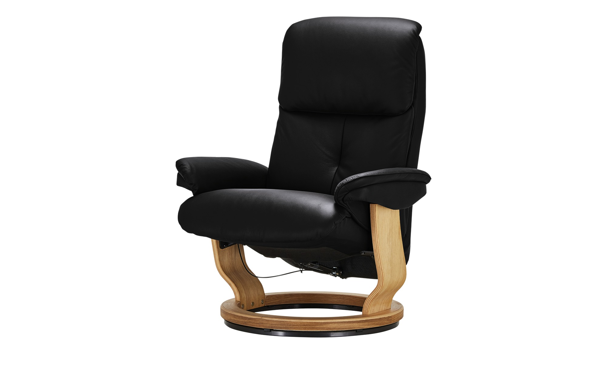 Relaxsessel  Farso ¦ schwarz ¦ Maße (cm): B: 85 H: 114 T: 92 Polstermöbel > Sessel > Drehsessel - Höffner