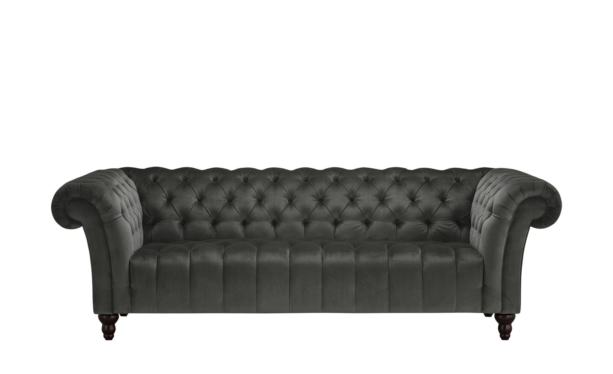 Big Sofa  Canyon ¦ grau ¦ Maße (cm): B: 230 H: 74 T: 101 Polstermöbel > Sofas > Big-Sofas - Höffner