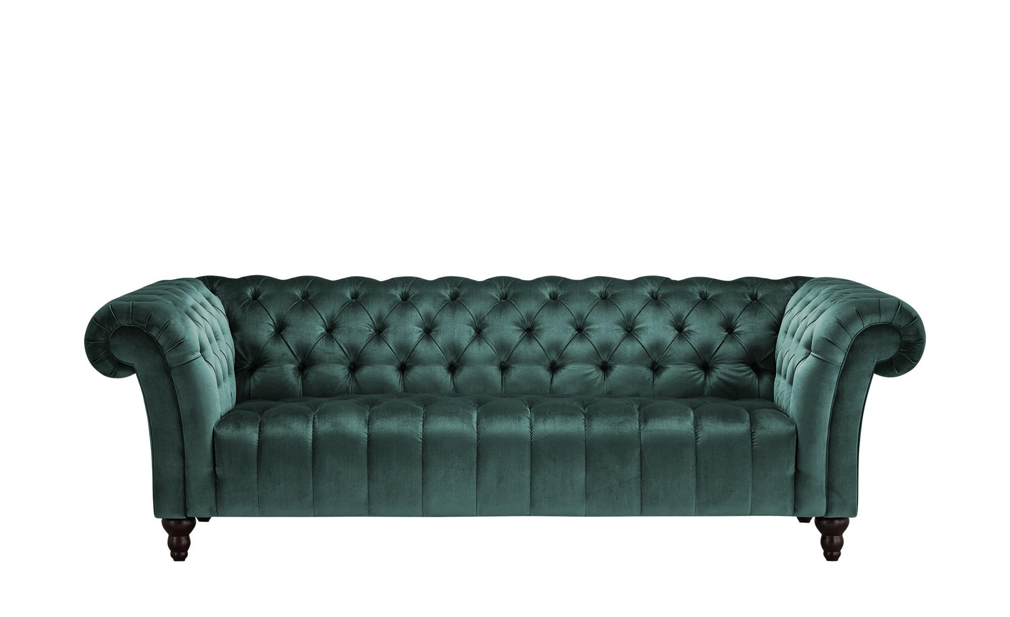 Big Sofa  Canyon ¦ grün ¦ Maße (cm): B: 230 H: 74 T: 101 Polstermöbel > Sofas > Big-Sofas - Höffner