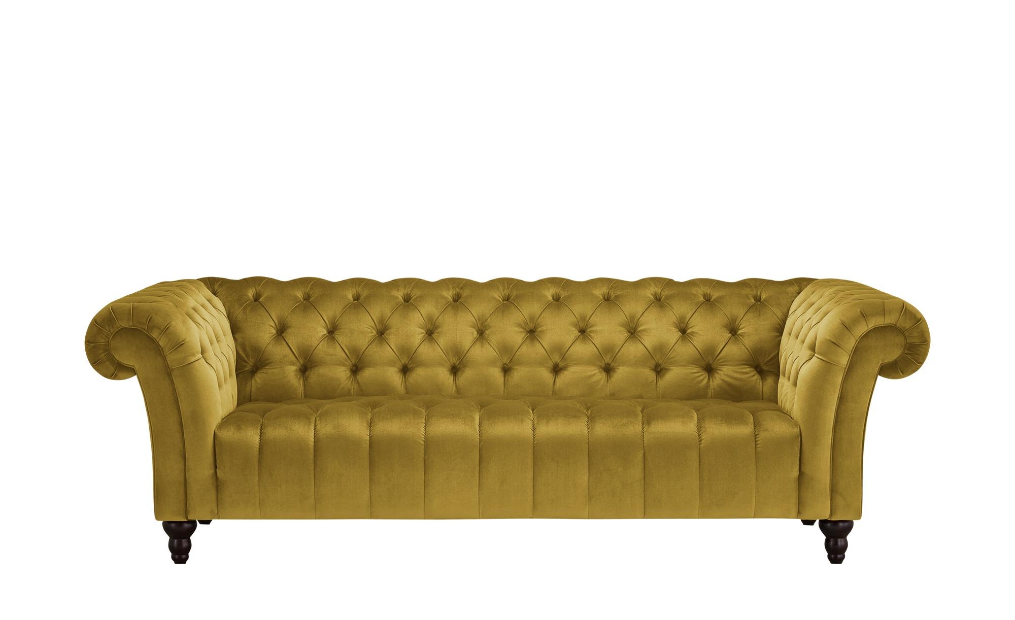 Big Sofa  Canyon ¦ gelb ¦ Maße (cm): B: 230 H: 74 T: 101 Polstermöbel > Sofas > Big-Sofas - Höffner