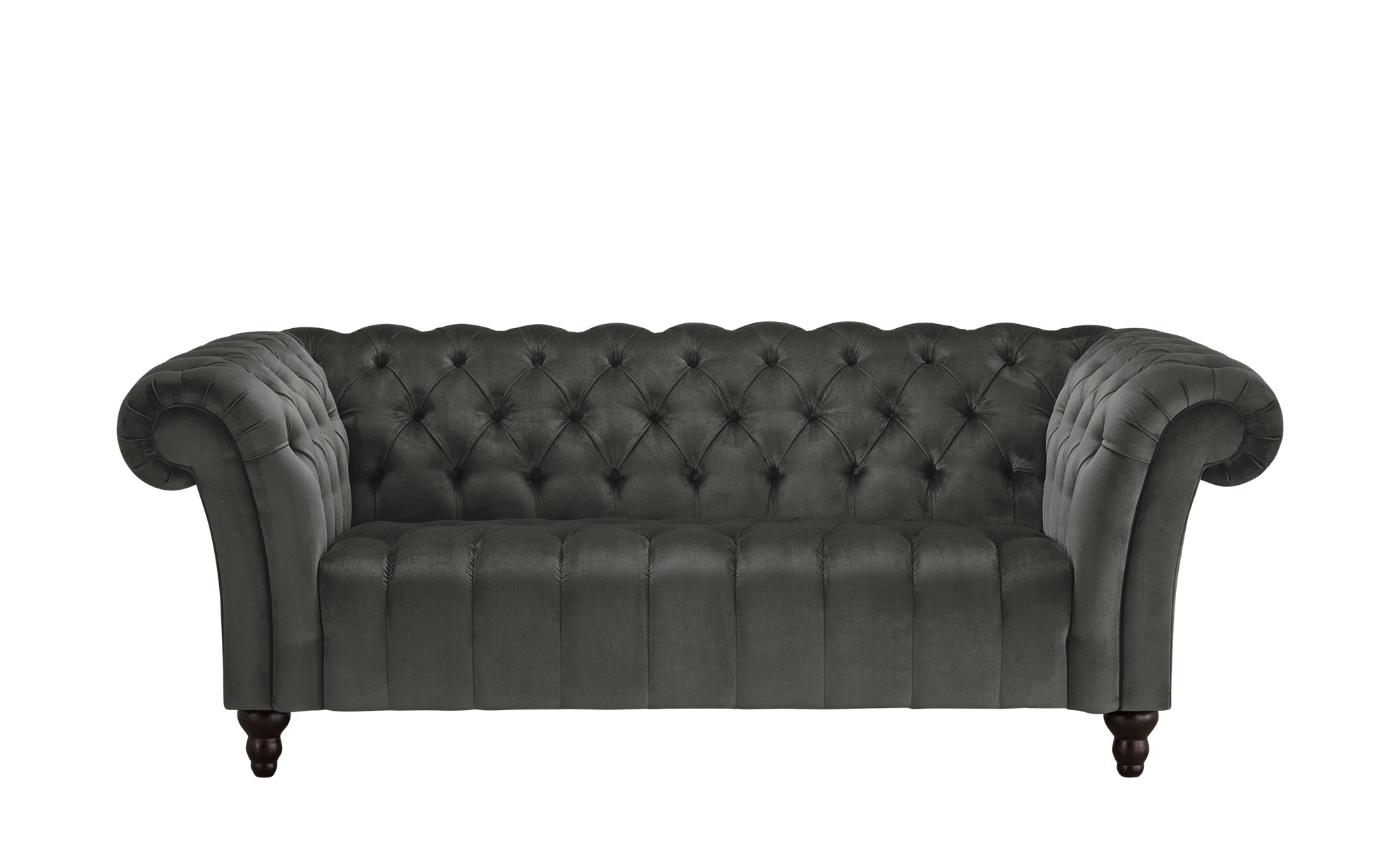 Sofa, 2-sitzig  Canyon ¦ grau ¦ Maße (cm): B: 205 H: 74 T: 101 Polstermöbel > Sofas > 2-Sitzer - Höffner