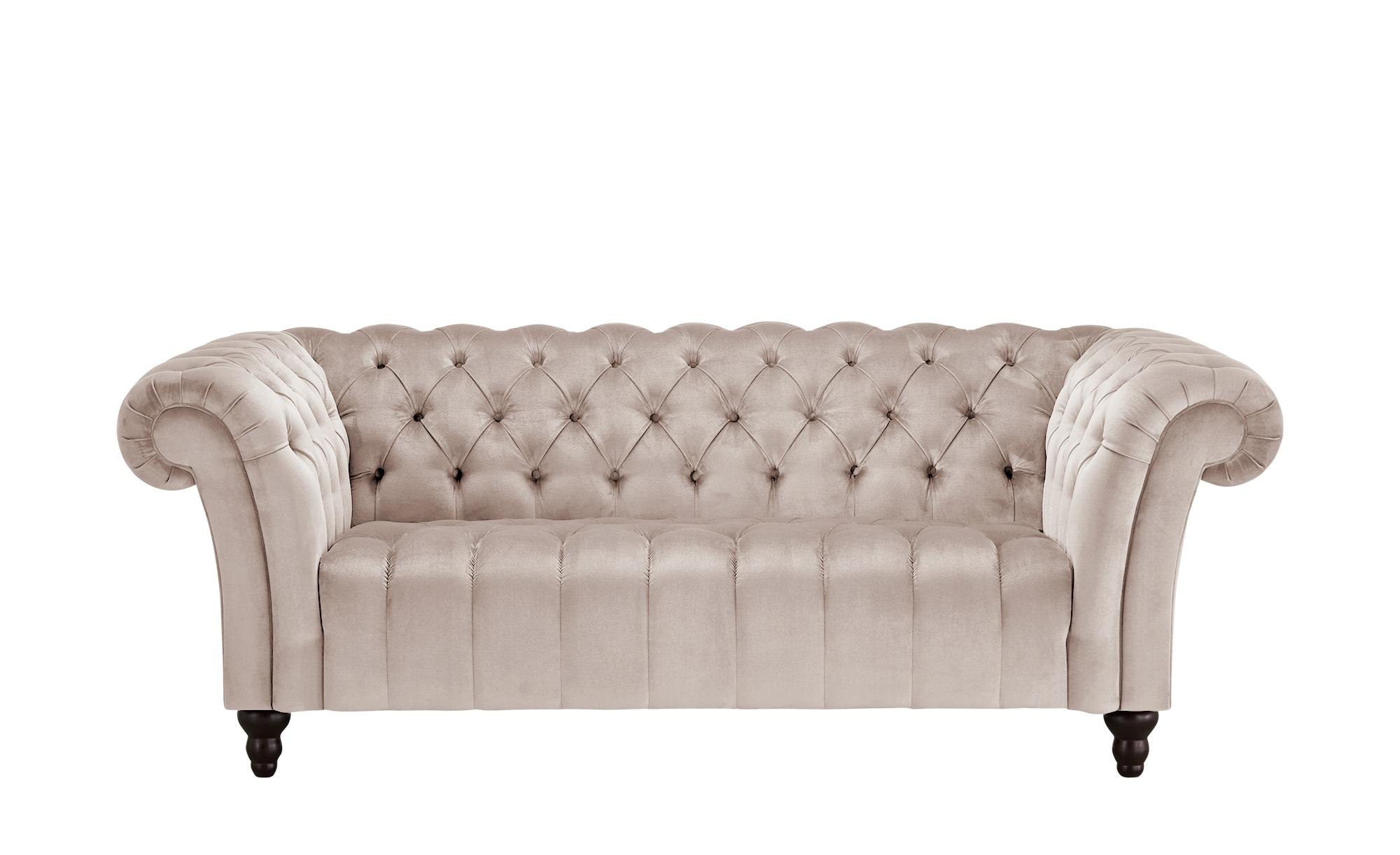Sofa, 2-sitzig  Canyon ¦ rosa/pink ¦ Maße (cm): B: 205 H: 74 T: 101 Polstermöbel > Sofas > 2-Sitzer - Höffner