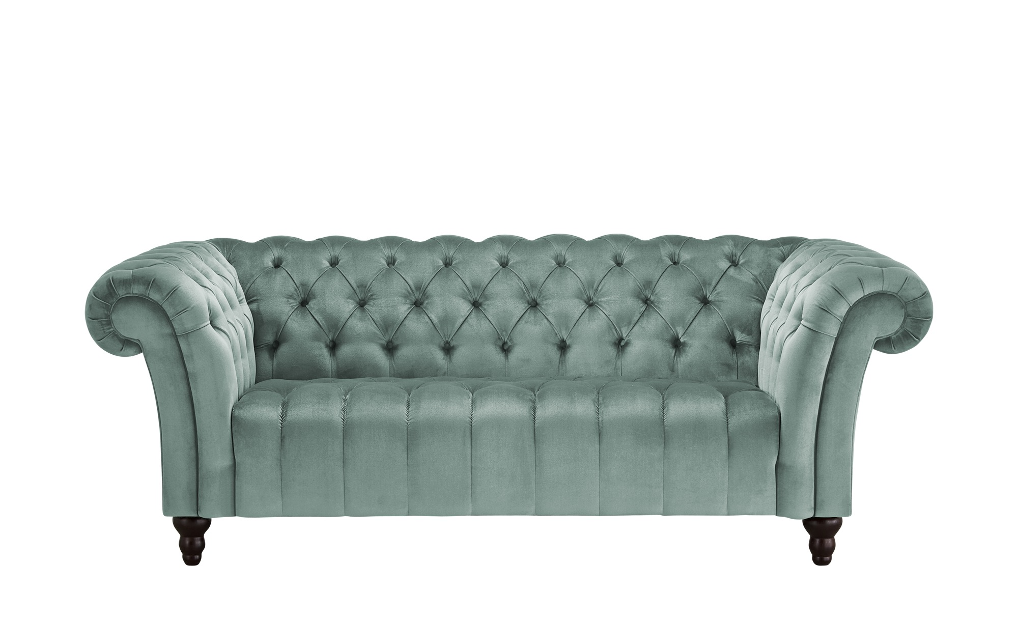 Sofa, 2-sitzig  Canyon ¦ blau ¦ Maße (cm): B: 205 H: 74 T: 101 Polstermöbel > Sofas > 2-Sitzer - Höffner