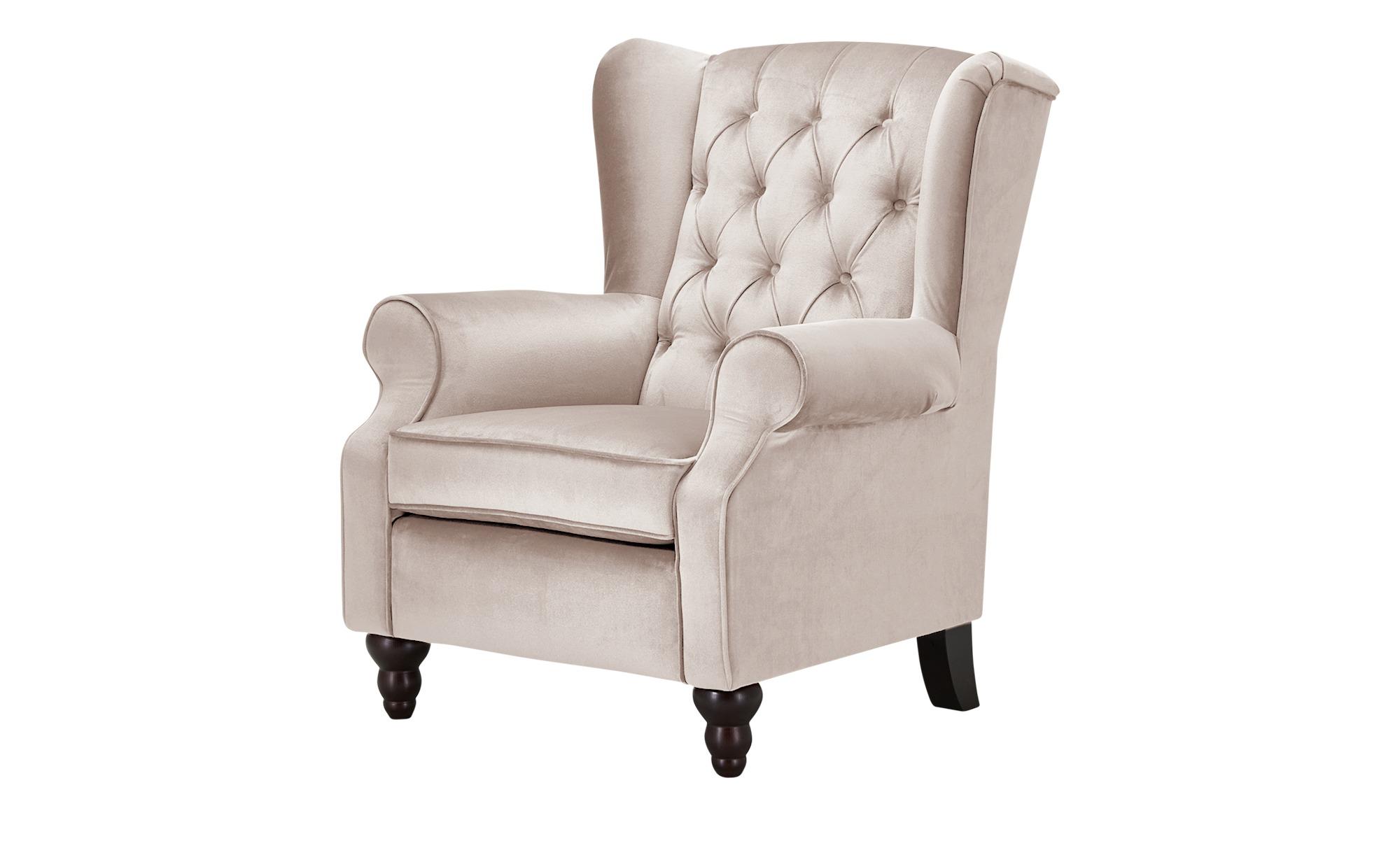 Ohrensessel  Canyon ¦ rosa/pink ¦ Maße (cm): B: 83 H: 102 T: 89 Polstermöbel > Sessel > Ohrensessel - Höffner