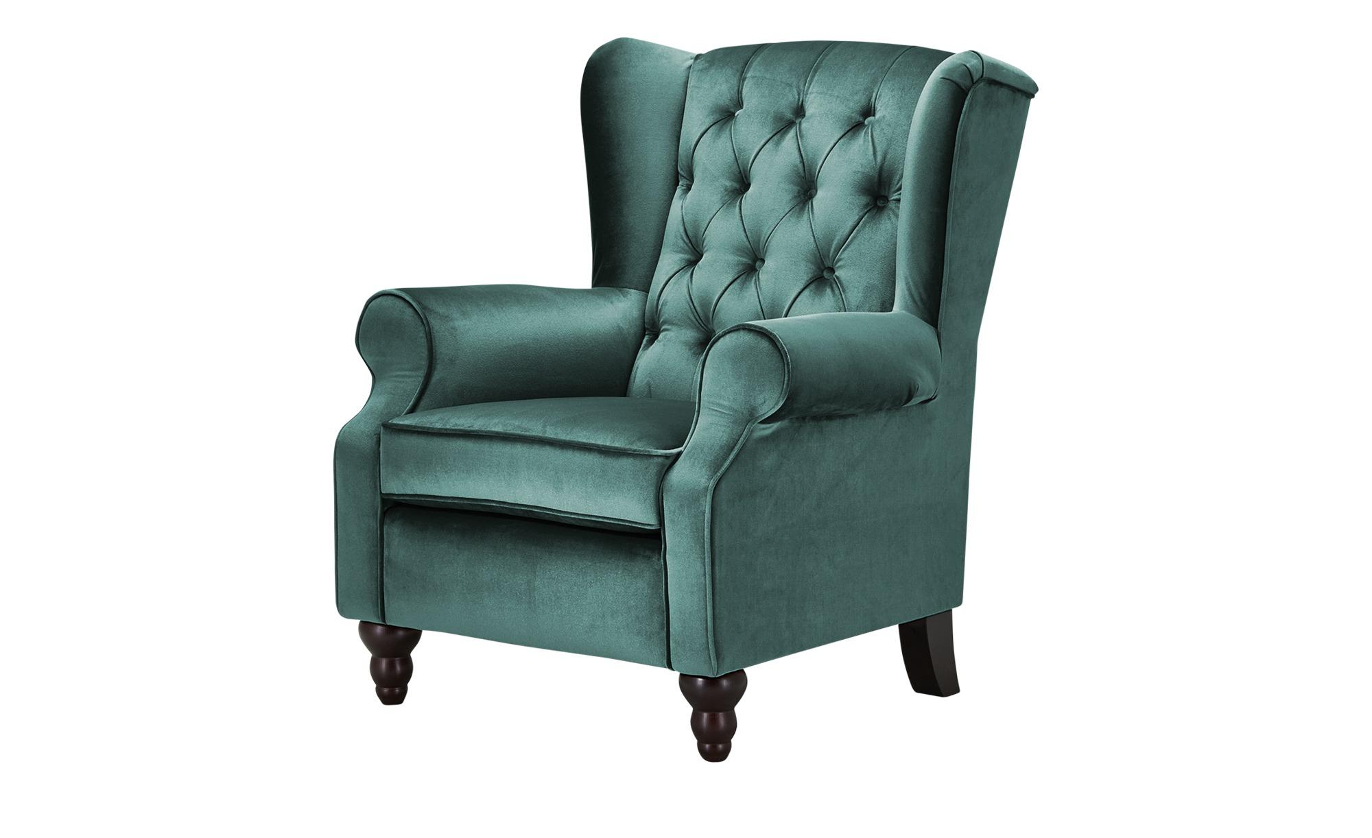 Ohrensessel  Canyon ¦ grün ¦ Maße (cm): B: 83 H: 102 T: 89 Polstermöbel > Sessel > Ohrensessel - Höffner