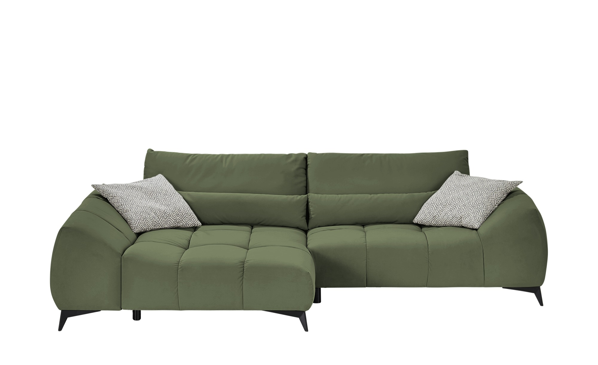 bobb Ecksofa  Dalia ¦ grün ¦ Maße (cm): H: 91 Polstermöbel > Sofas > Ecksofas - Höffner