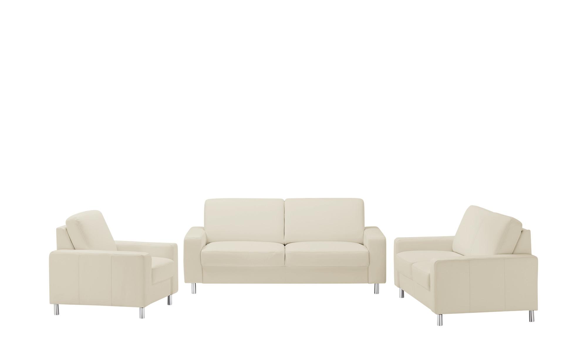 meinSofa Sitzgruppe  Byron ¦ weiß Polstermöbel > Sofas > Sitzgruppen - Höffner
