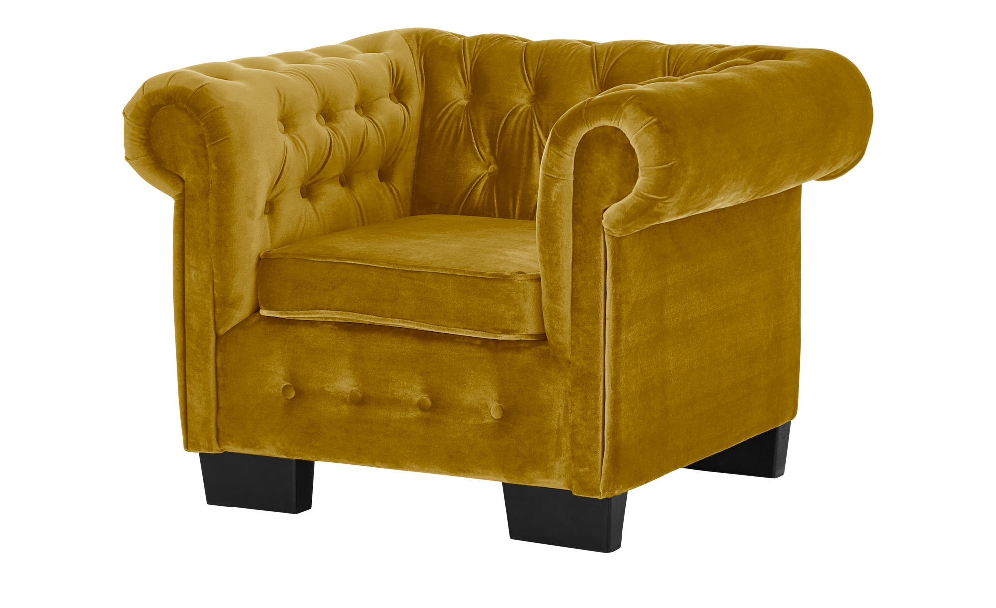 smart Sessel  Chelli ¦ gelb ¦ Maße (cm): B: 102 H: 75 T: 89 Polstermöbel > Sessel > Polstersessel - Höffner