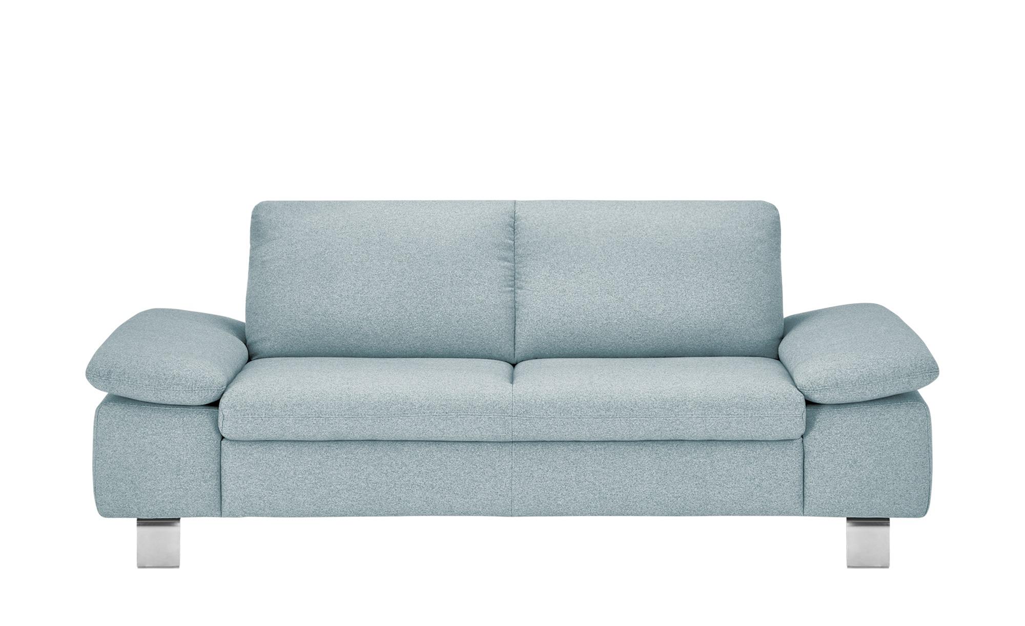 smart Sofa  Finola ¦ grün ¦ Maße (cm): B: 201 H: 83 T: 94 Polstermöbel > Sofas > 3-Sitzer - Höffner