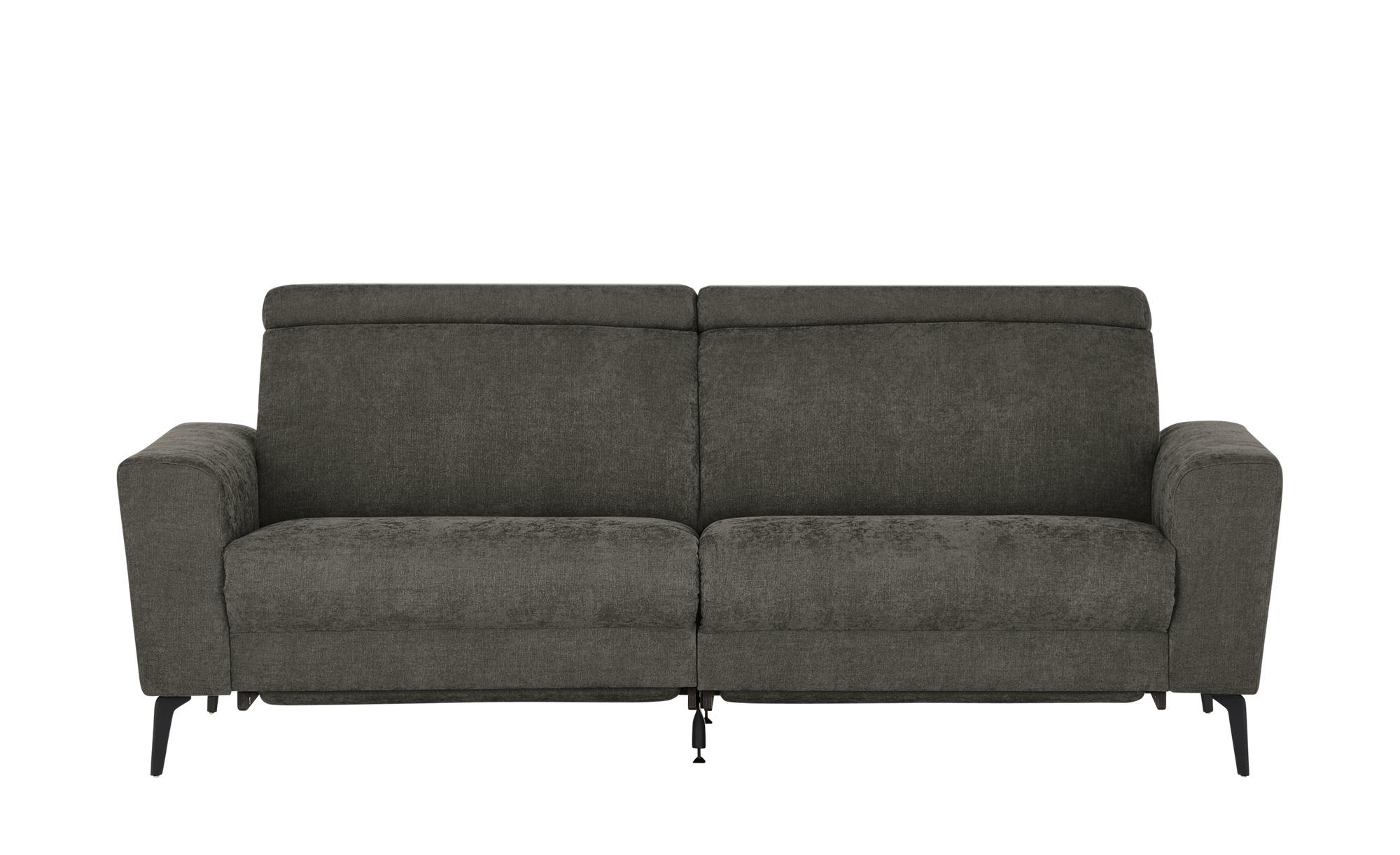 Sofa   Billund ¦ braun ¦ Maße (cm): B: 220 H: 90 T: 90 Polstermöbel > Sofas > 3-Sitzer - Höffner