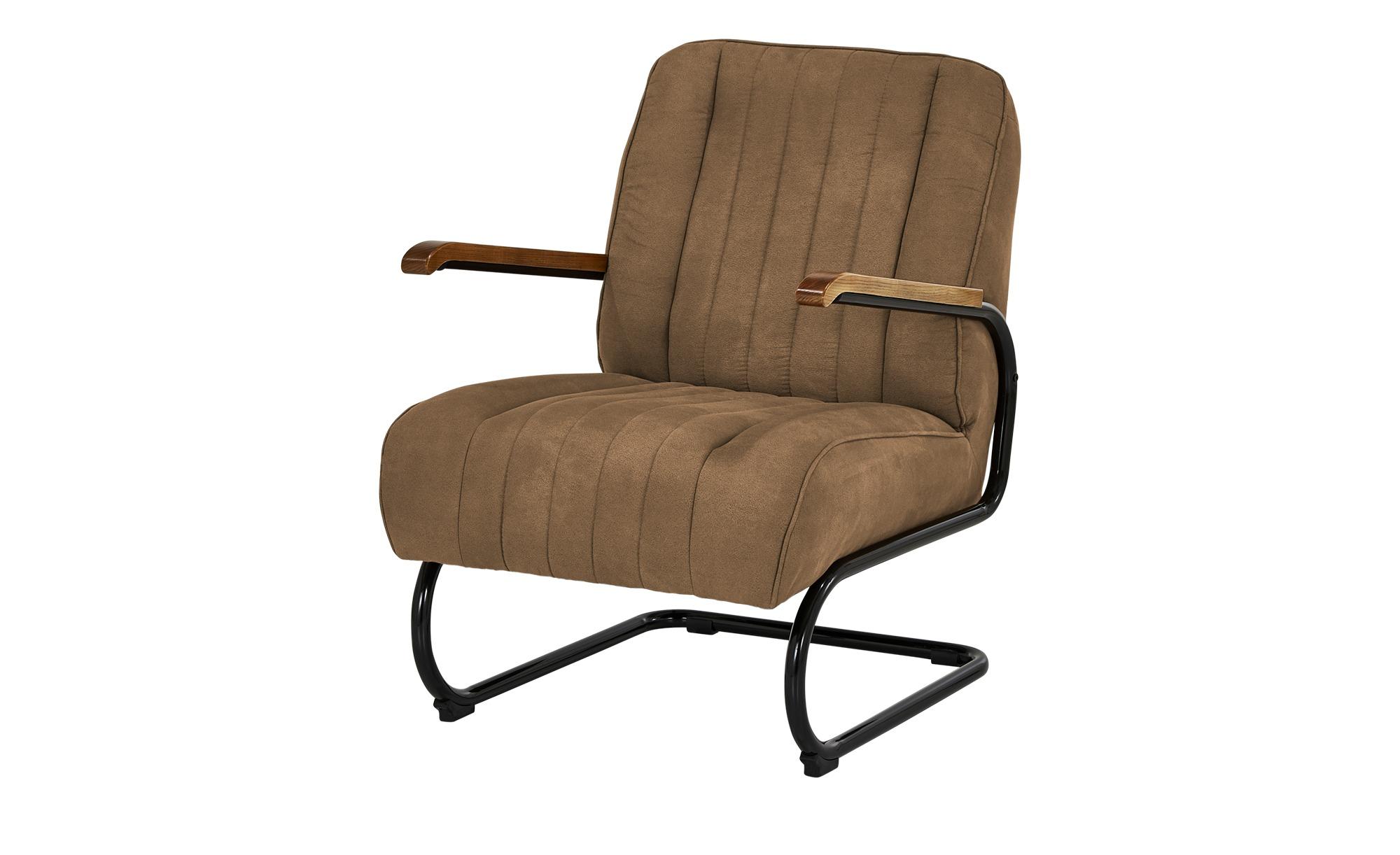 Sessel  Rachel ¦ braun ¦ Maße (cm): B: 67 H: 100 T: 83 Polstermöbel > Sessel > Polstersessel - Höffner