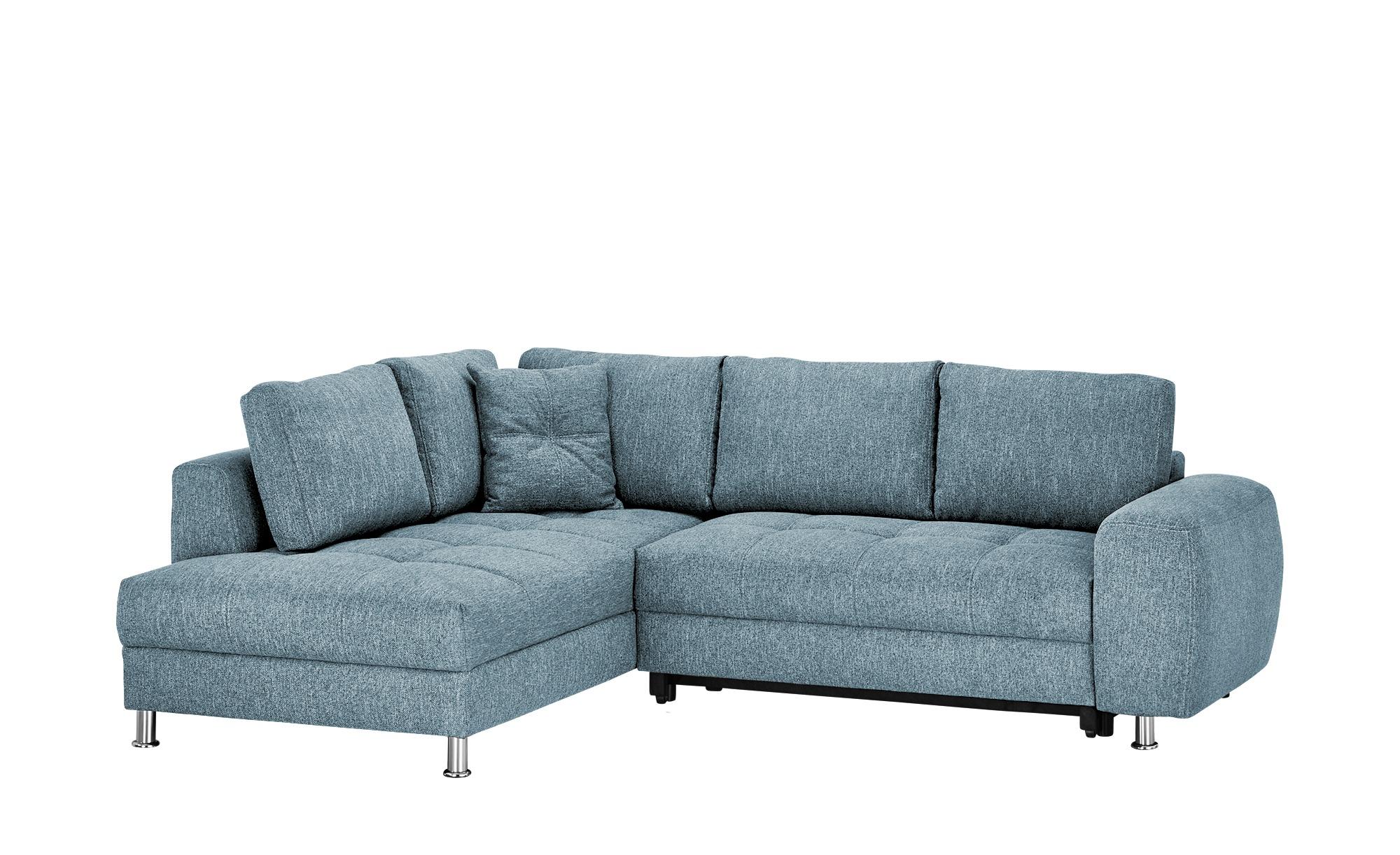 bobb Ecksofa  Guilia ¦ blau ¦ Maße (cm): H: 92 Polstermöbel > Sofas > Ecksofas - Höffner