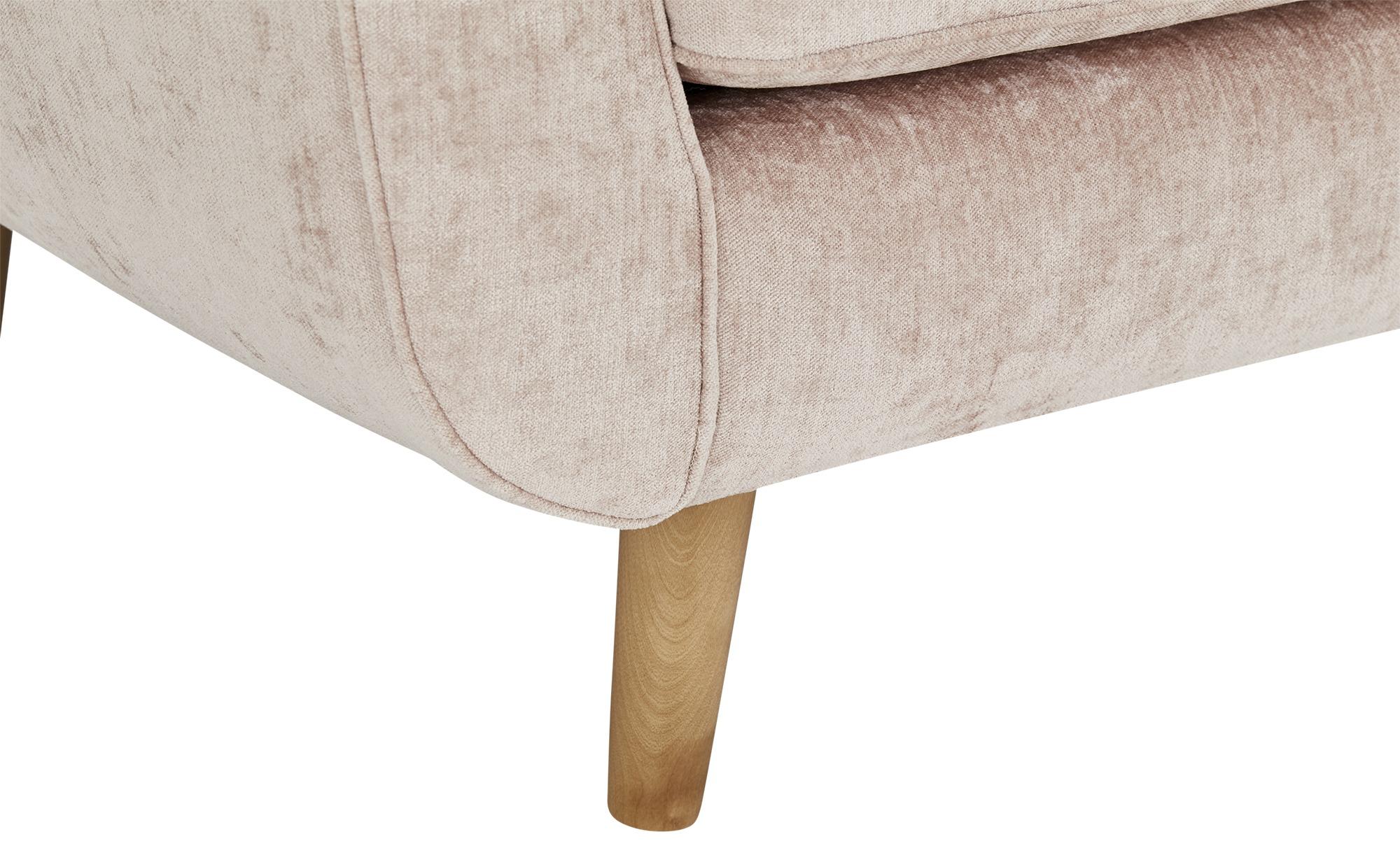 SOHO Sofa 3-sitzig  Zehra ¦ rosa/pink ¦ Maße (cm): B: 226 H: 85 T: 96 Polstermöbel > Sofas > 3-Sitzer - Höffner