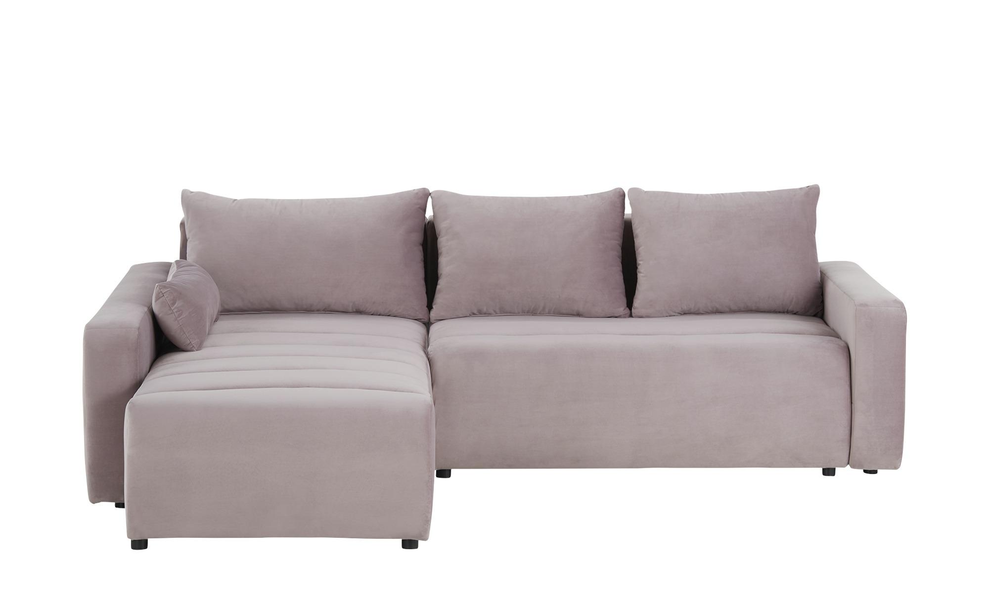 smart Ecksofa  Fania ¦ rosa/pink ¦ Maße (cm): H: 72 Polstermöbel > Sofas > Ecksofas - Höffner