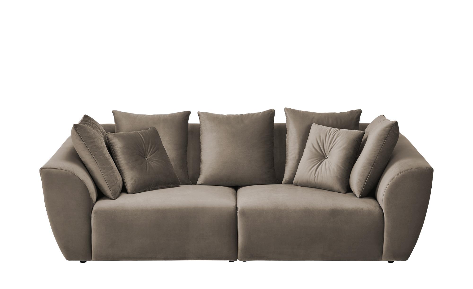 smart Big Sofa  Krista ¦ braun ¦ Maße (cm): B: 254 H: 92 T: 113 Polstermöbel > Sofas > Big-Sofas - Höffner