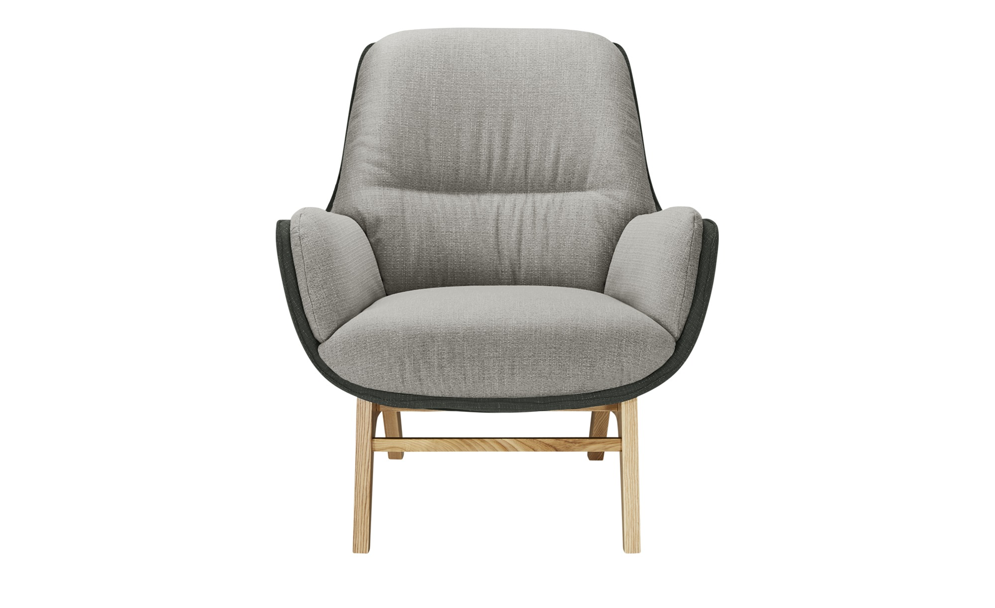 Gray & Jones Sessel  Cap Ferrat Homi ¦ grau ¦ Maße (cm): B: 77 H: 95 T: 88 Polstermöbel > Sessel > Polstersessel - Höffner