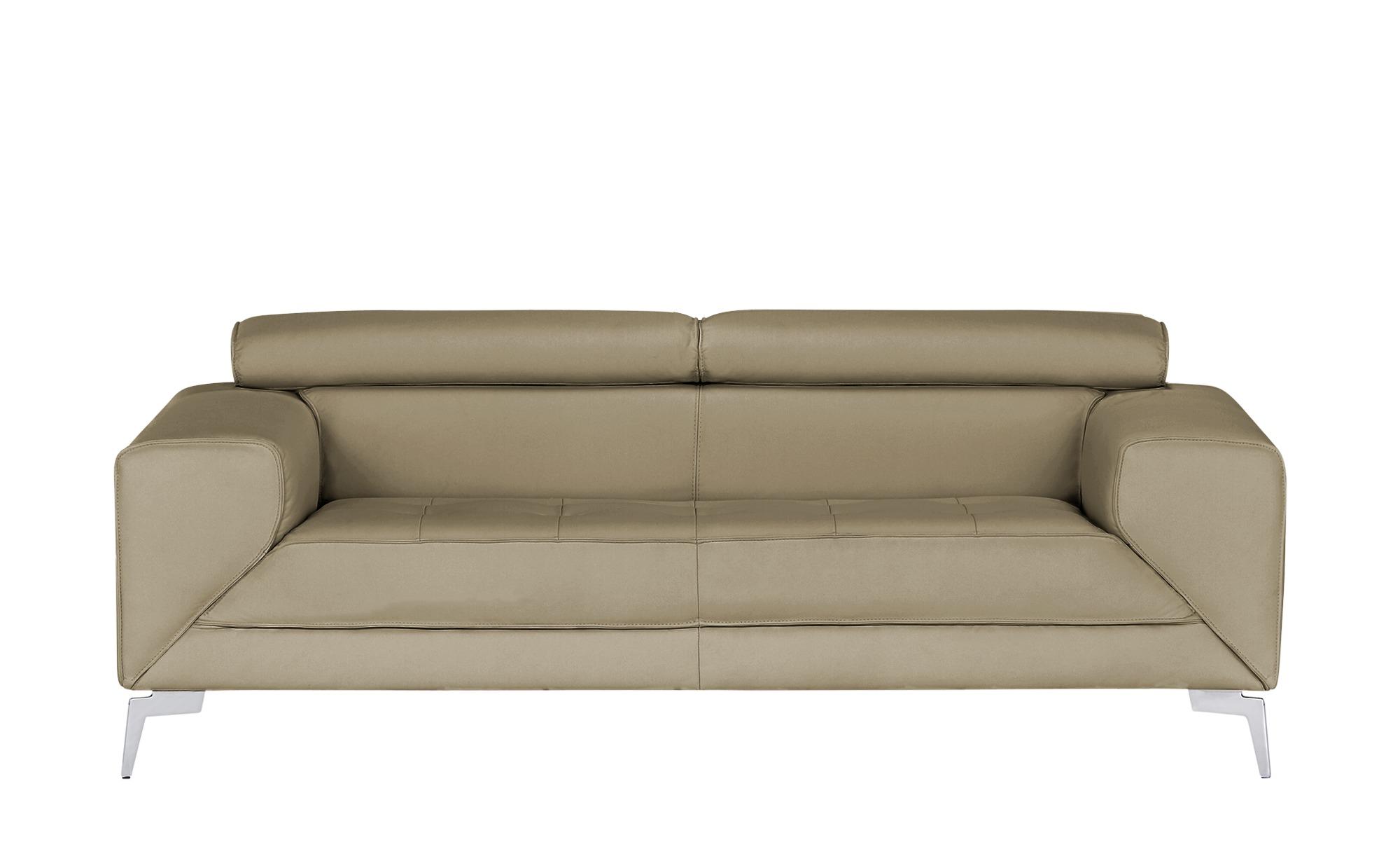 smart Sofa  Nena ¦ beige ¦ Maße (cm): B: 202 H: 72 T: 100 Polstermöbel > Sofas > Einzelsofas - Höffner