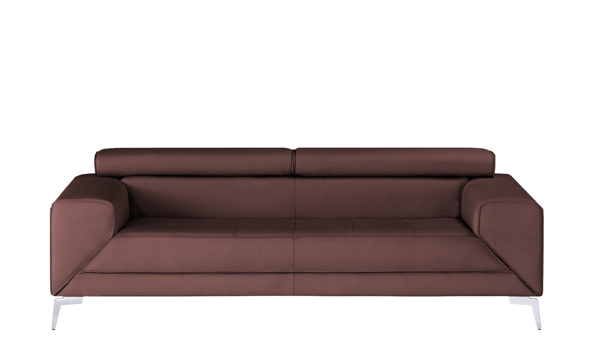 smart Sofa  Nena ¦ rot ¦ Maße (cm): B: 222 H: 72 T: 100 Polstermöbel > Sofas > 3-Sitzer - Höffner